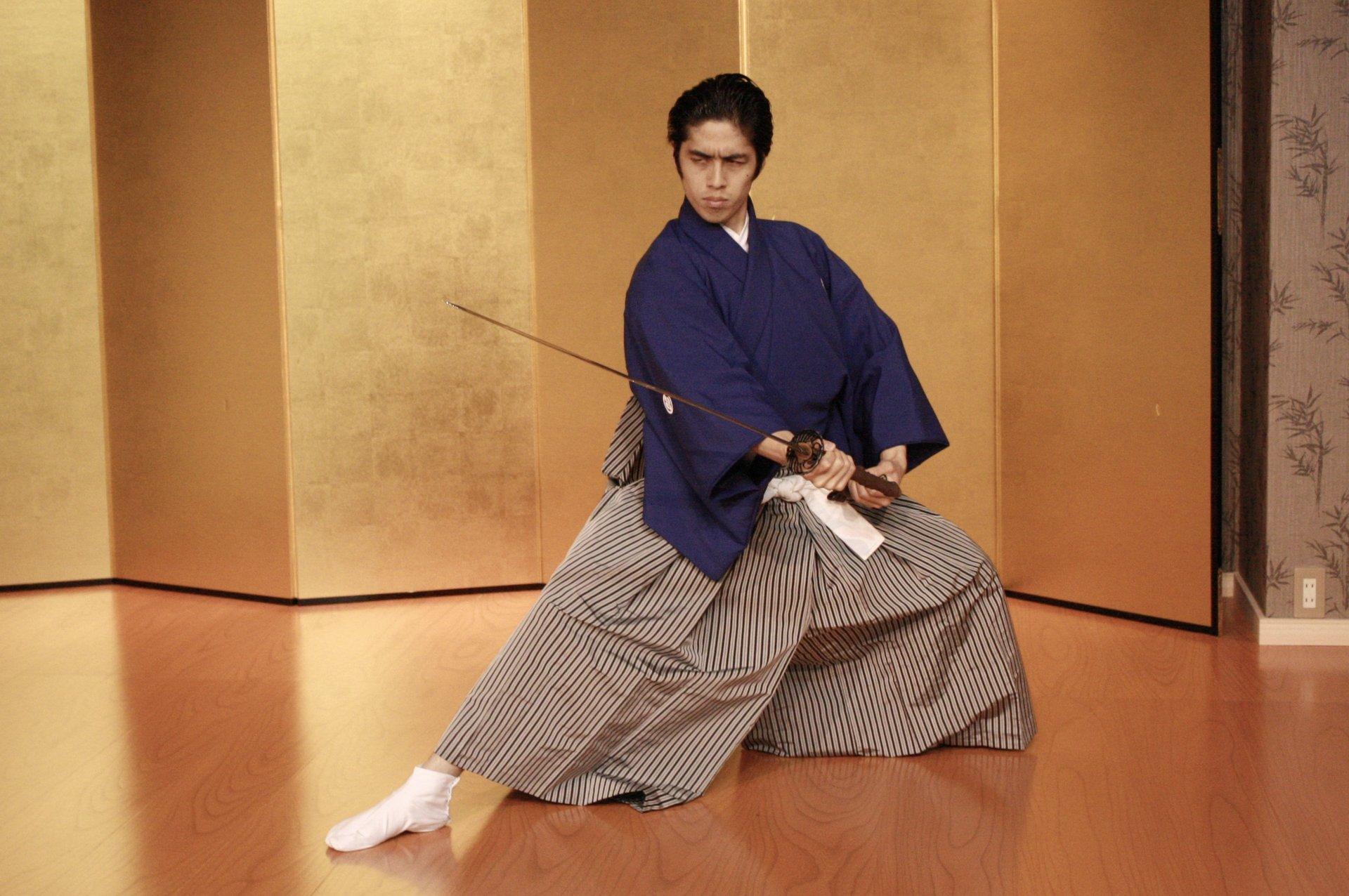 Samurai Kembu (Sword Dance) in Kyoto 2019 - Best Time