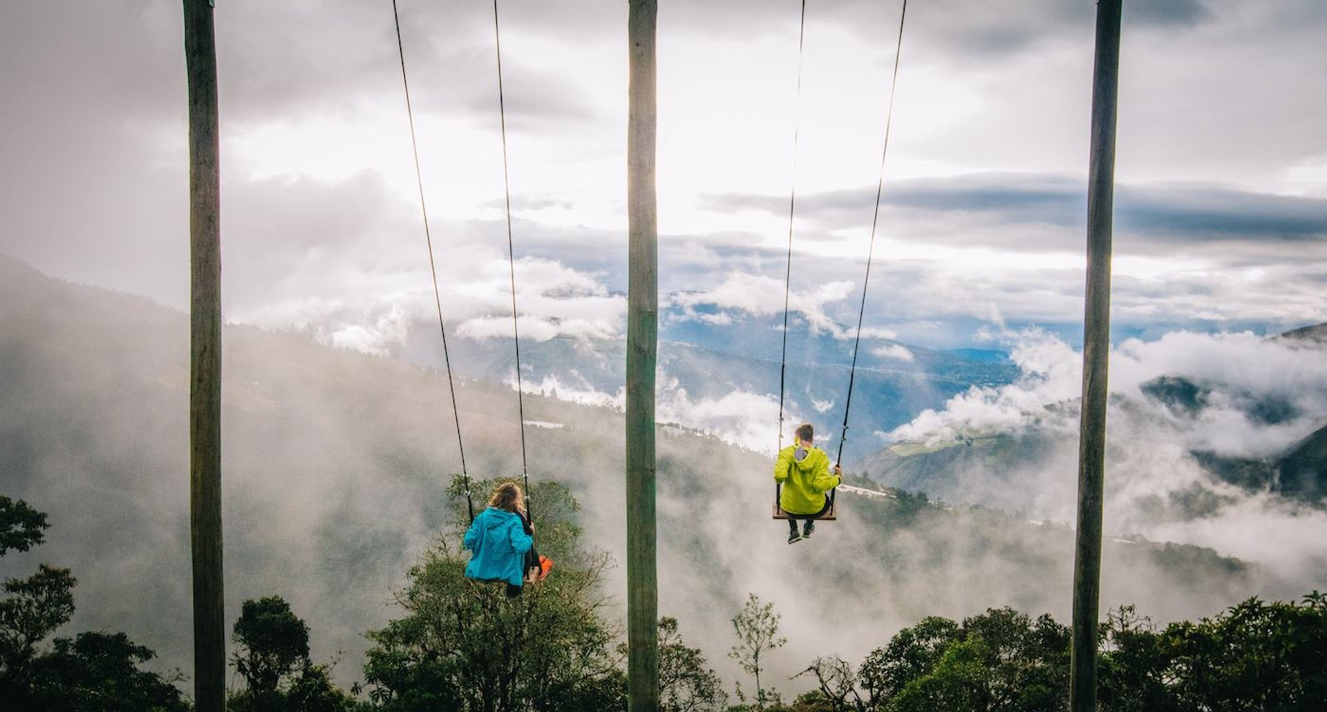 Swing at the End of the World in Ecuador 2020 - Best Time
