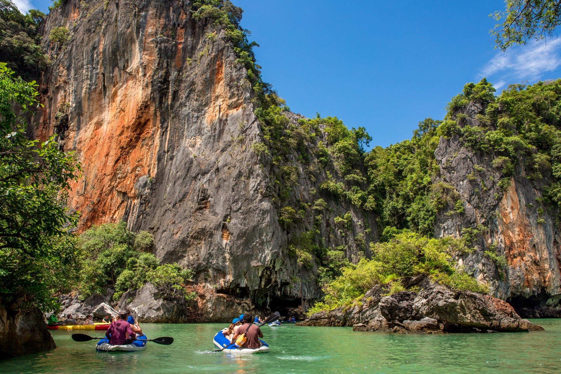 Kayaking in Phang Nga Bay in Phuket 2019 - Best Time