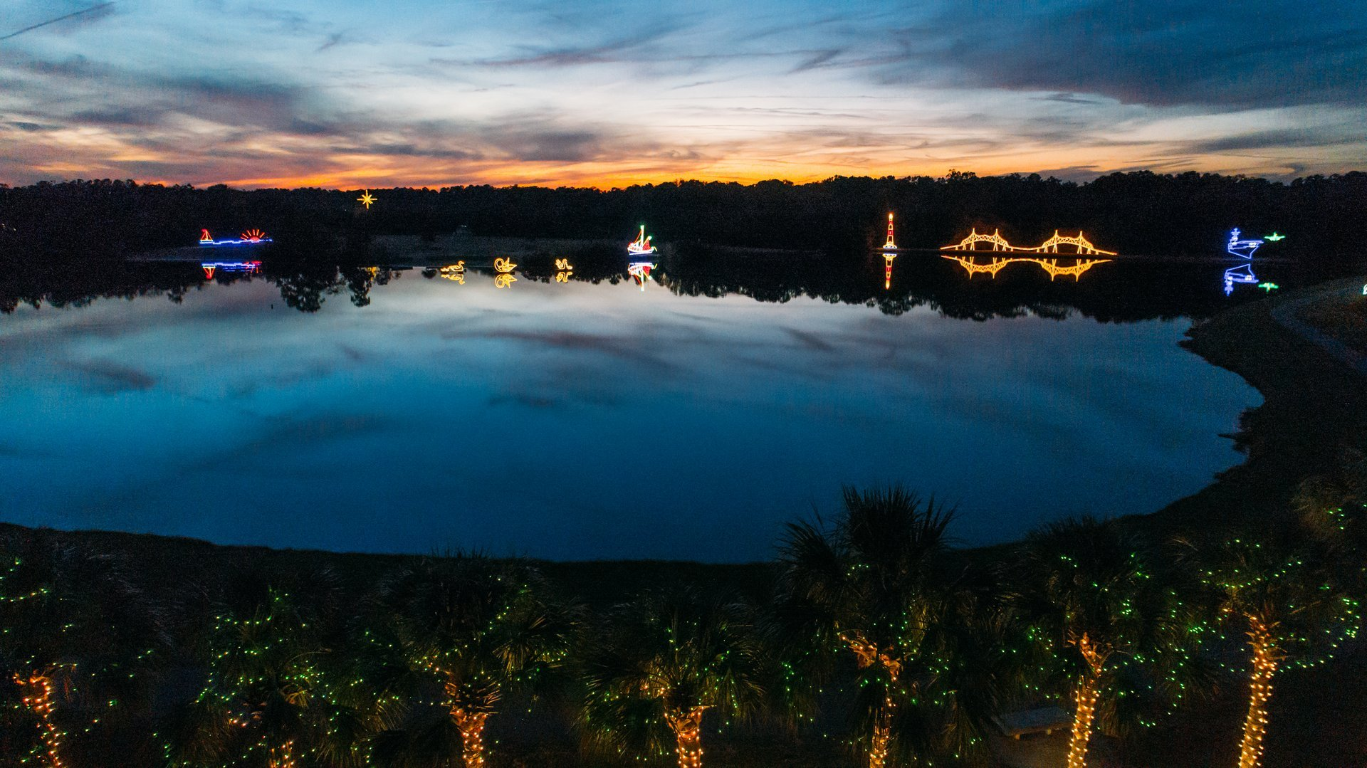 Best time for James Island Holiday Festival of Lights in South Carolina 2020