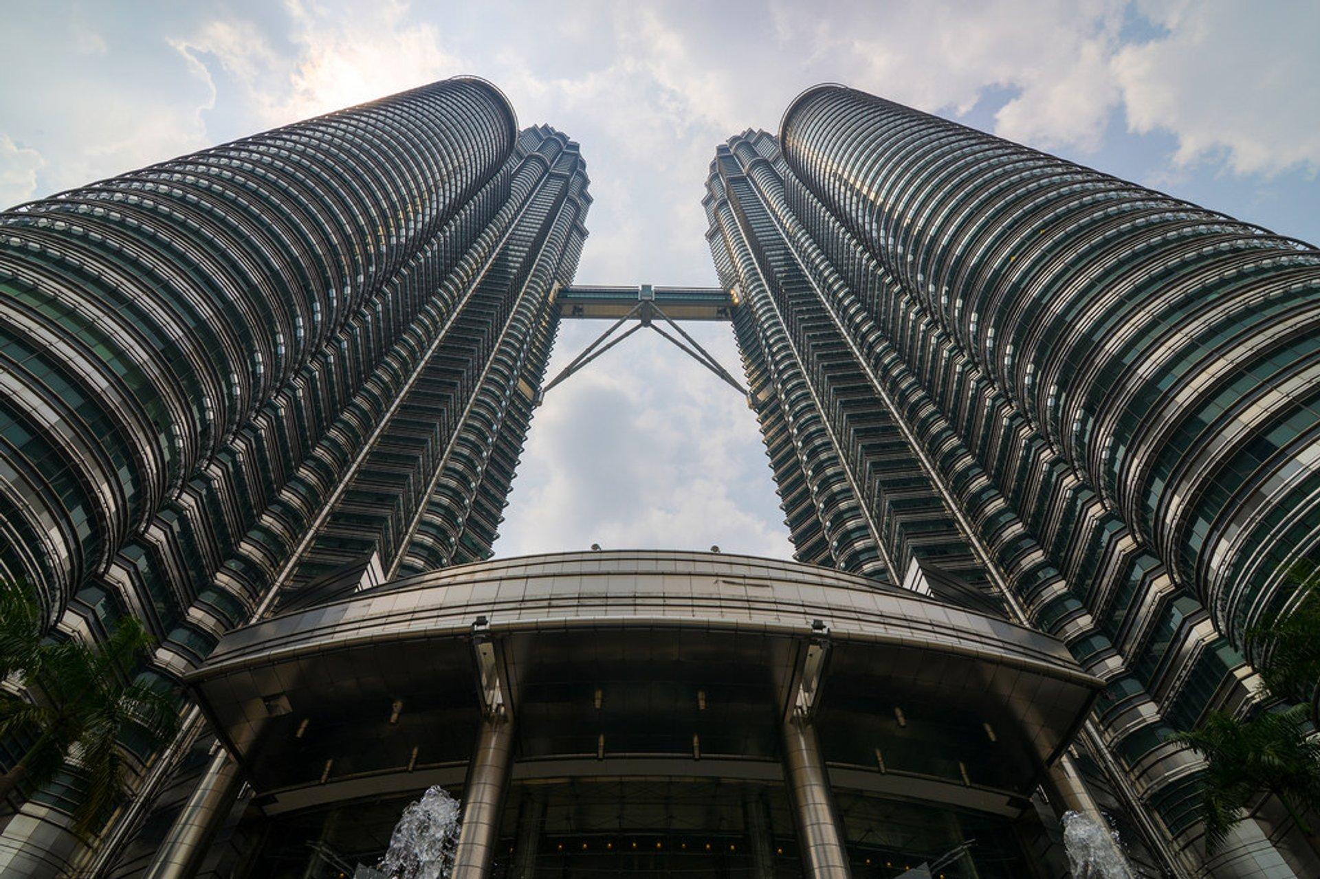 Petronas Twin Towers in Kuala Lumpur - Best Season 2019