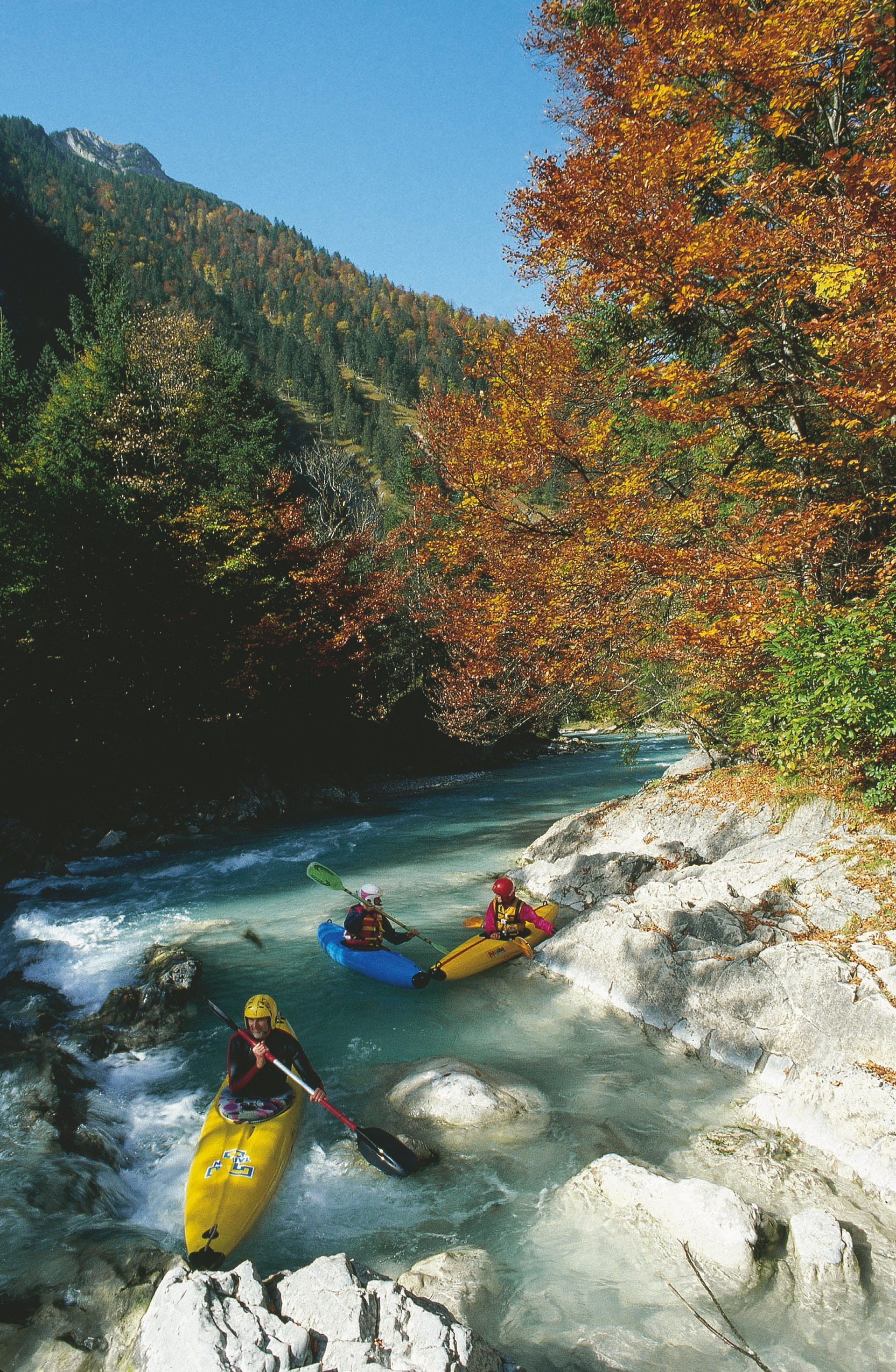 Сanoeing and Kayaking in Austria - Best Season