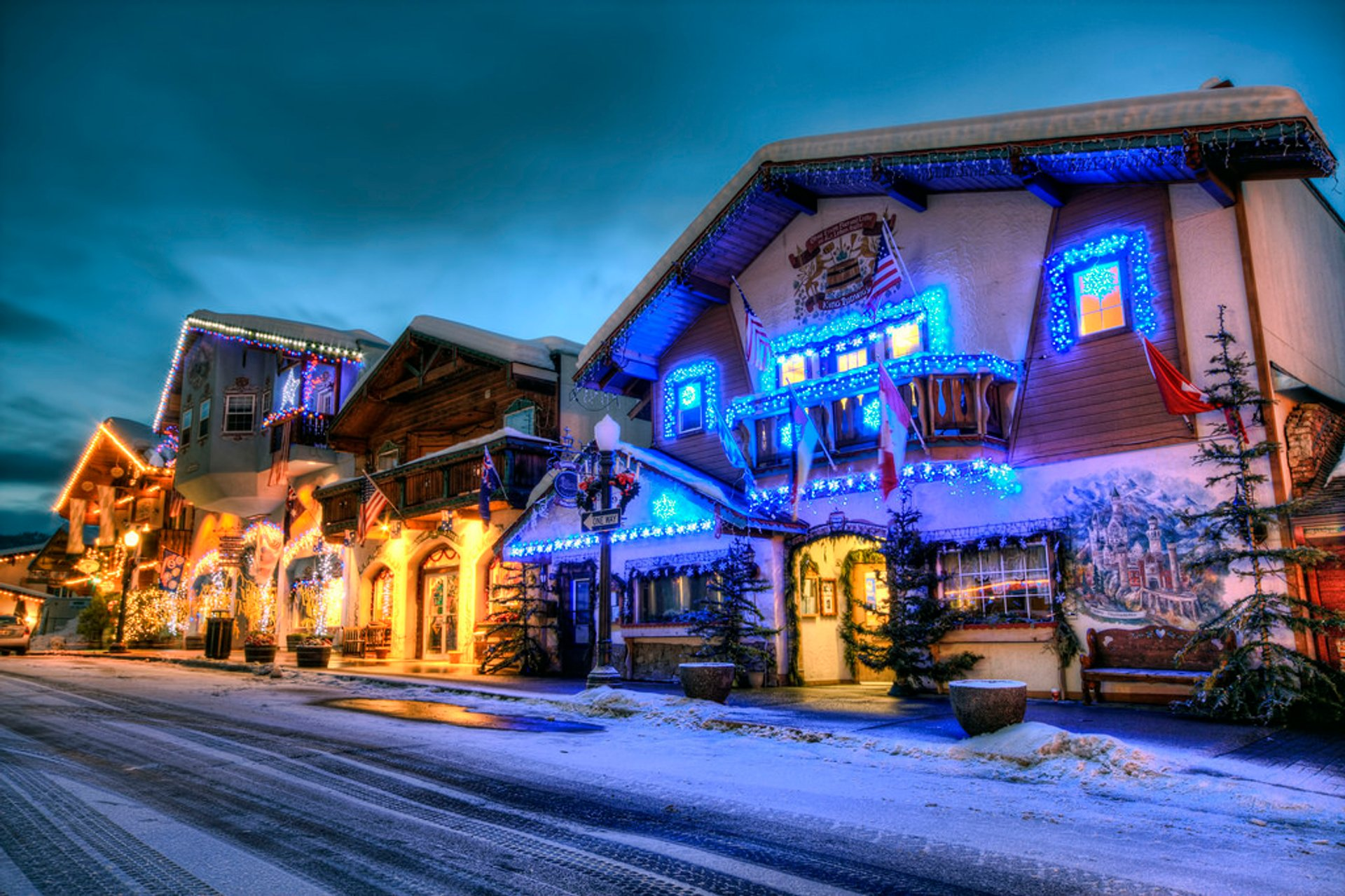 Leavenworth Christmas Lighting Festival in Seattle 2019 - Best Time