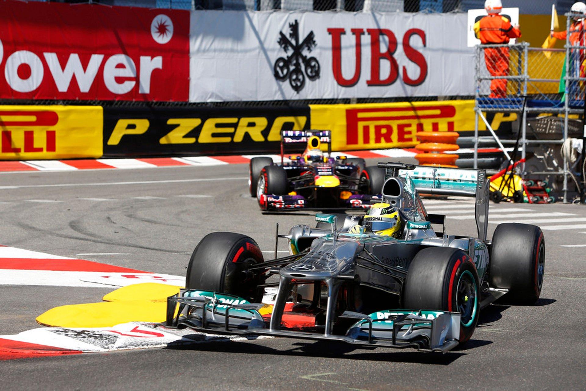 F1 Monaco Grand Prix in Monaco 2020 - Best Time