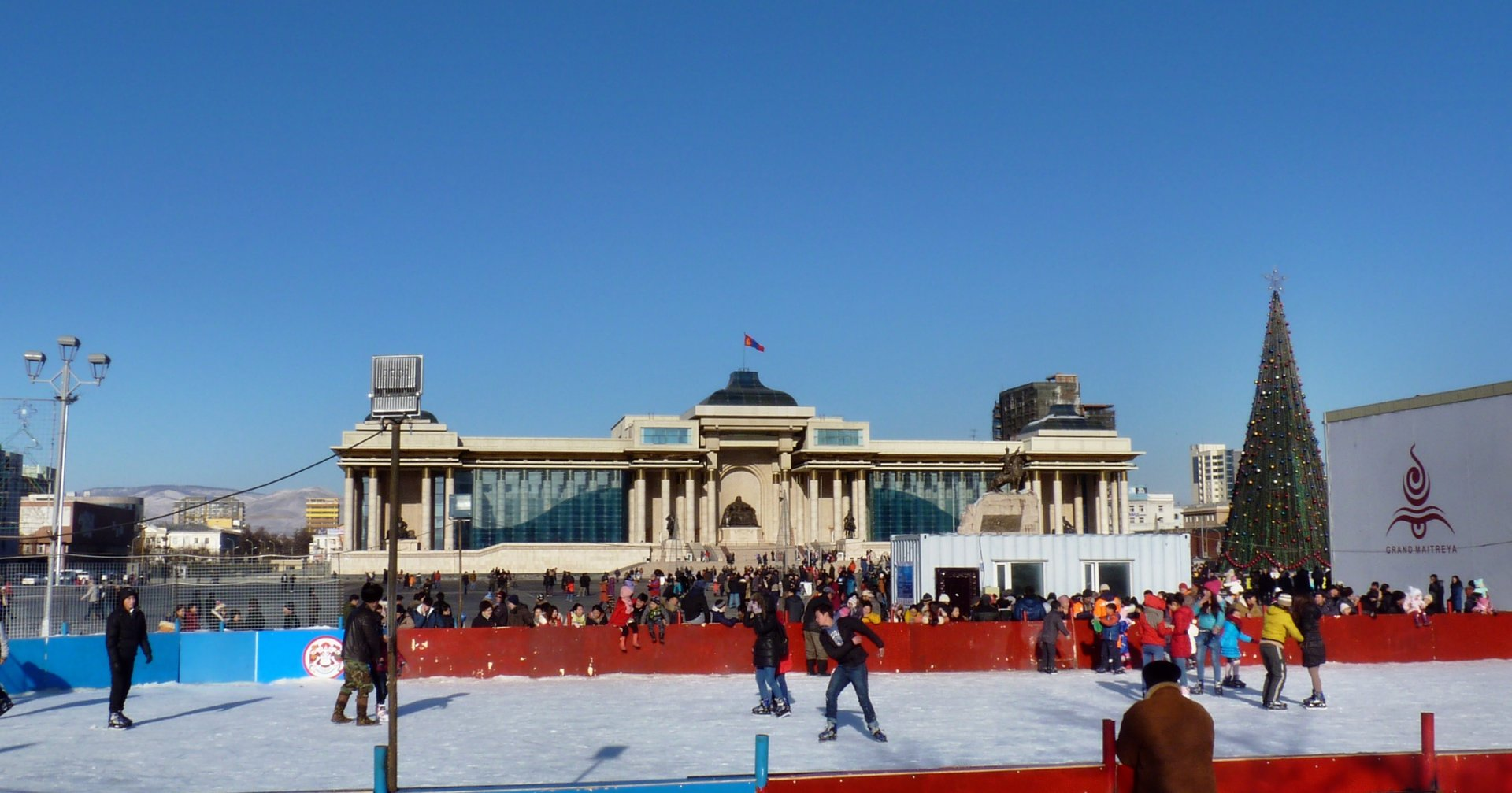 Ice Skating in Mongolia 2019 - Best Time