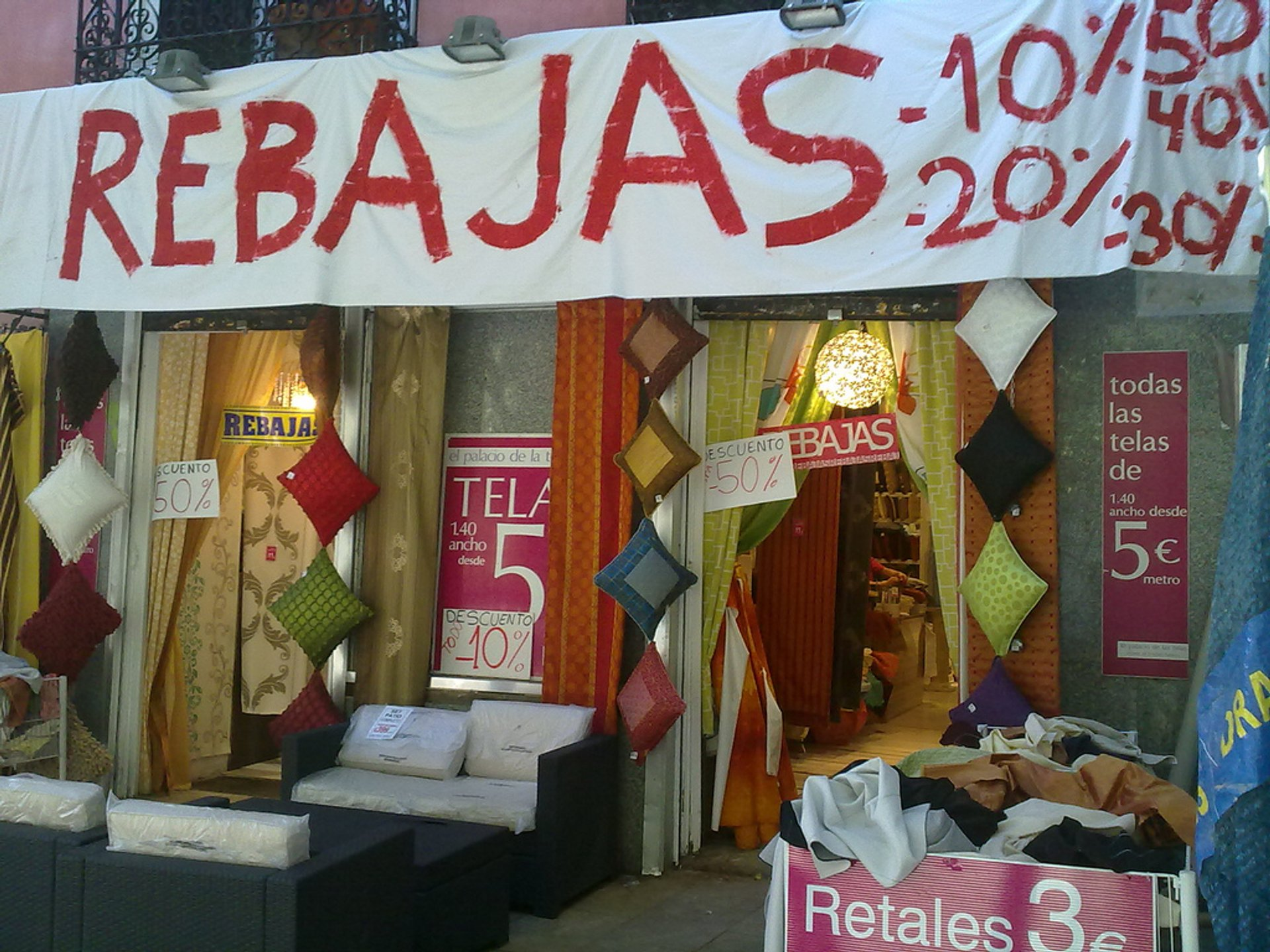 Sales (Rebajas) in Madrid - Best Season 2019