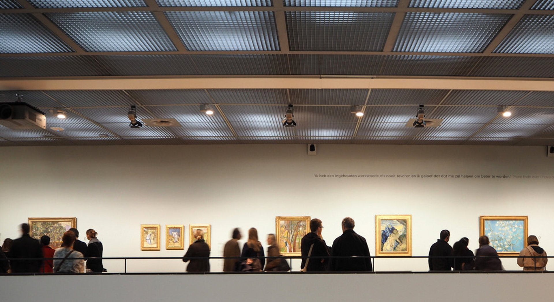 Best time for Van Gogh Museum in Amsterdam 2019