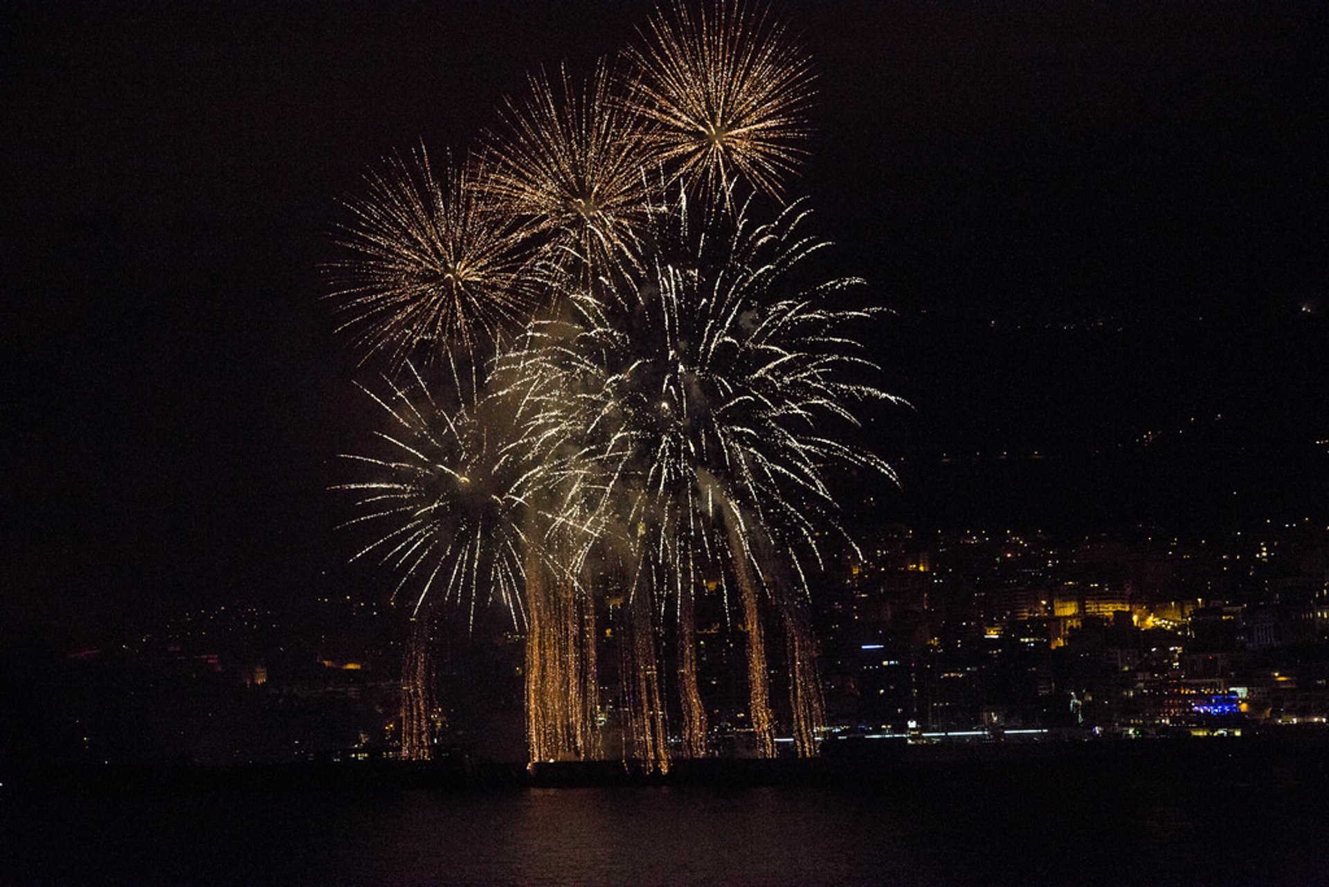 Best time to see Art en Ciel: International Fireworks Competition in Monaco 2020