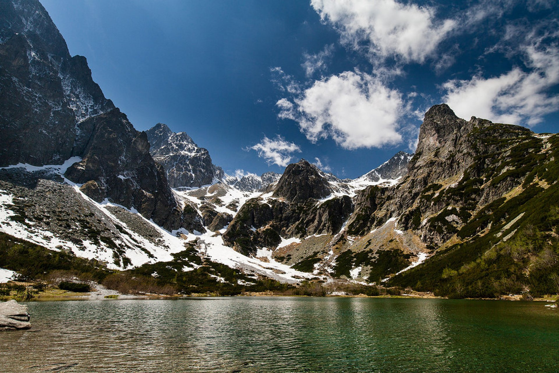 Zelene Pleso, High Tatra Mountains 2020