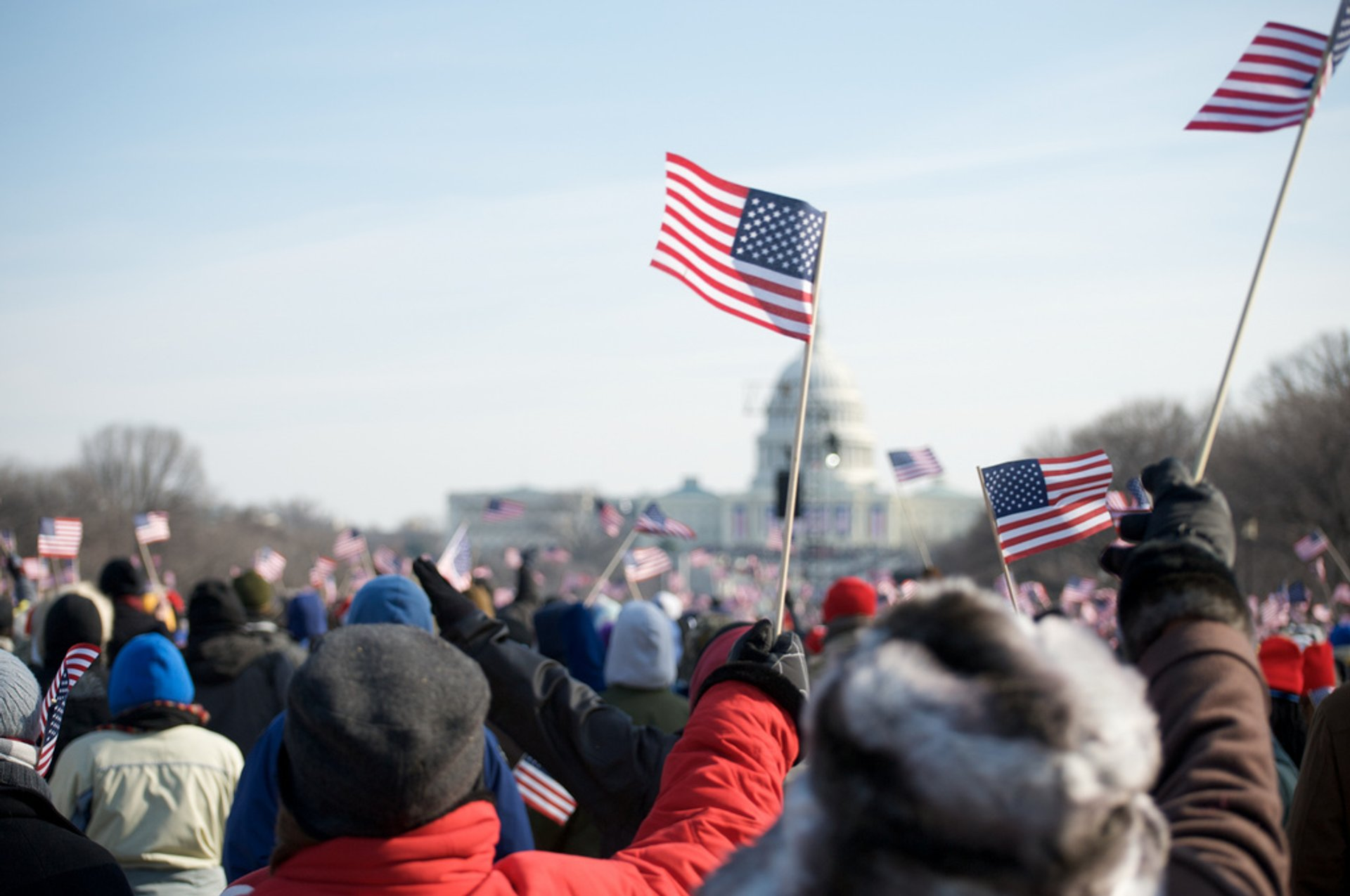 Best time for Presidential Inauguration in Washington, D.C. 2020
