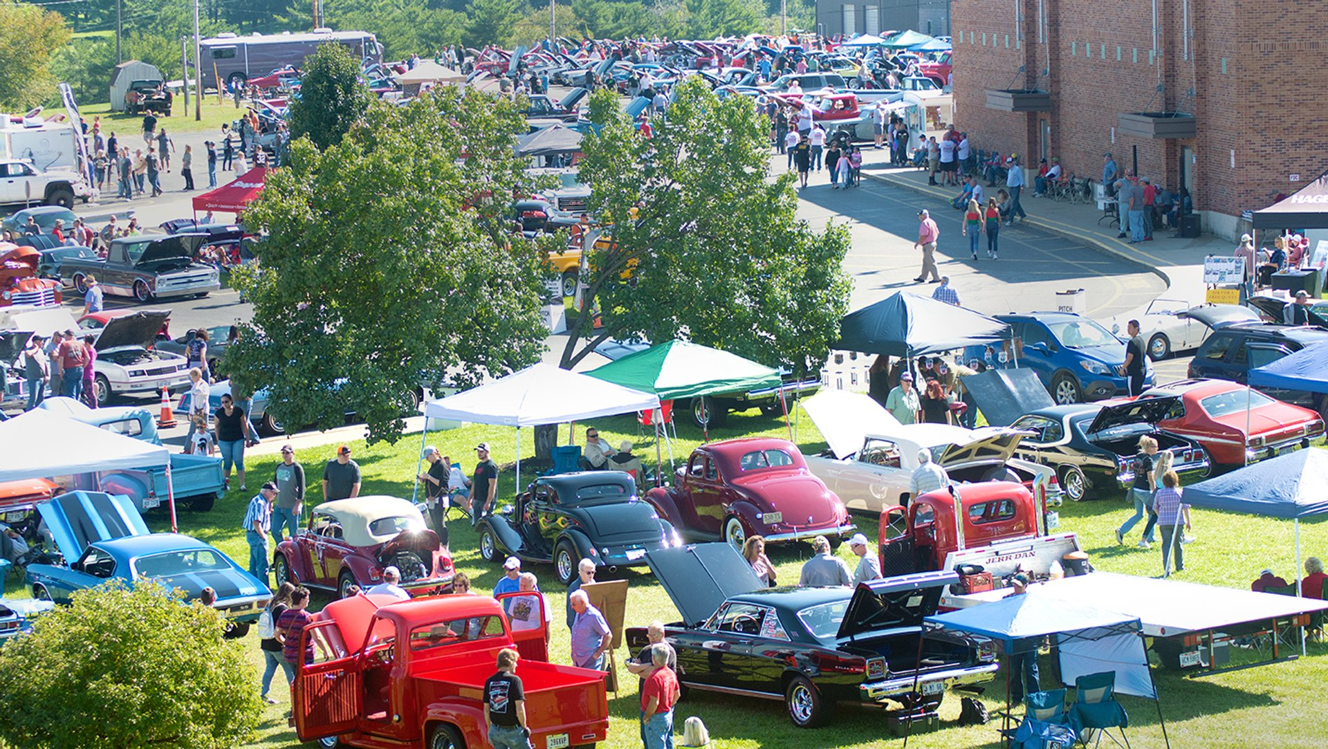 Barnesville Pumpkin Festival Car Show always held on Sunday of the festival 2019