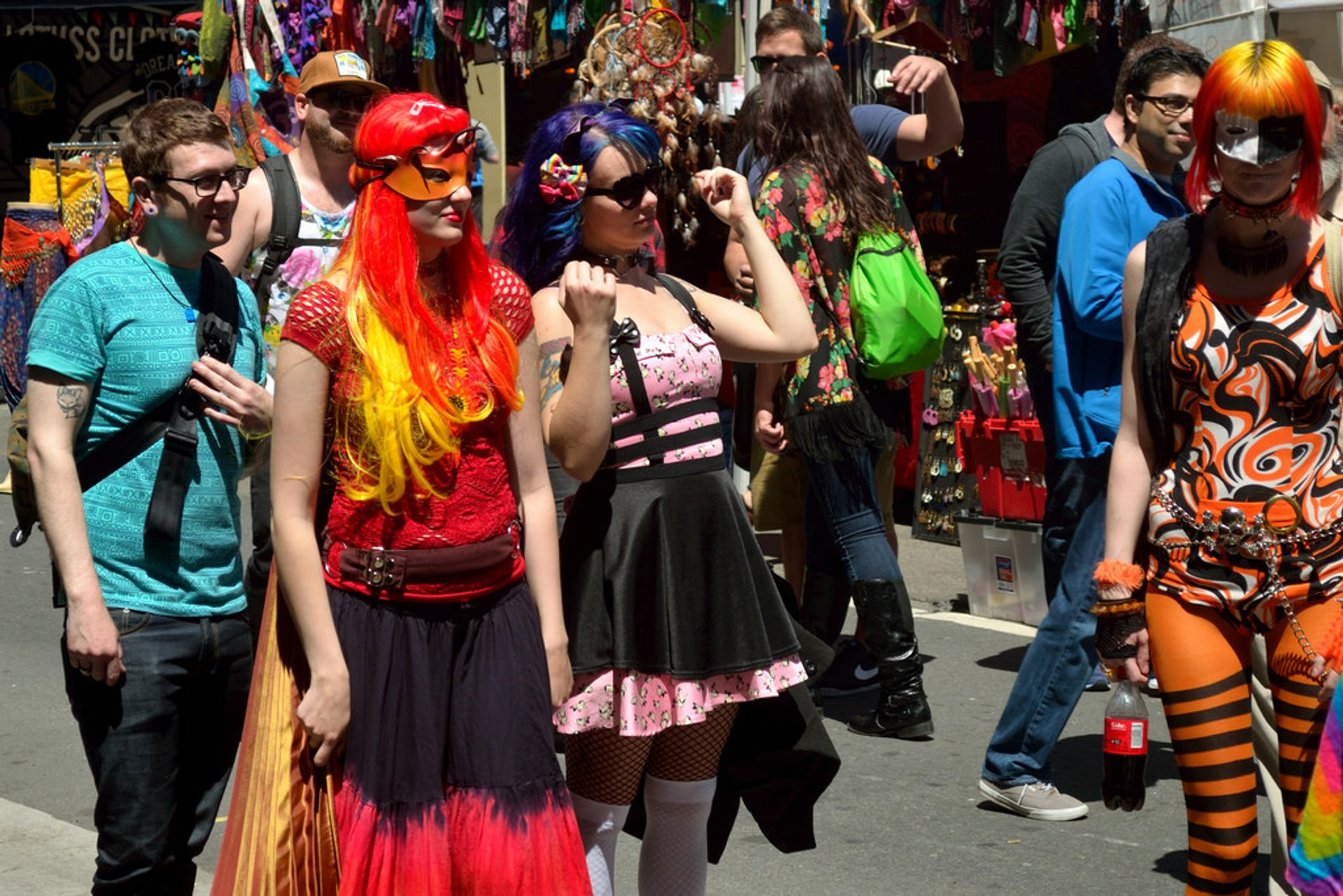 Best time for How Weird Street Faire in San Francisco 2020
