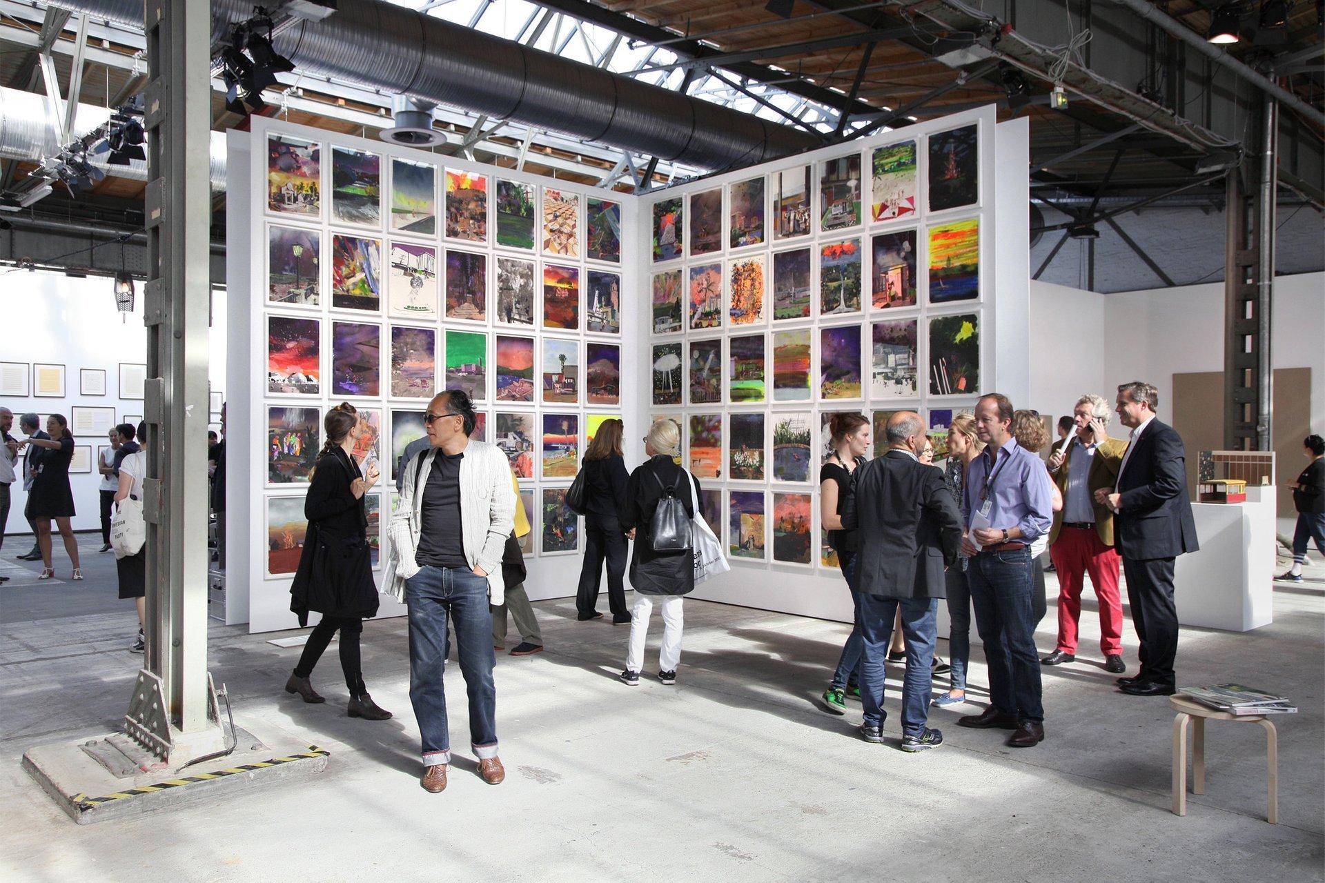 abc Austellungsansicht / installation view, 2015, Blain Southern, Marius Bercea 2020