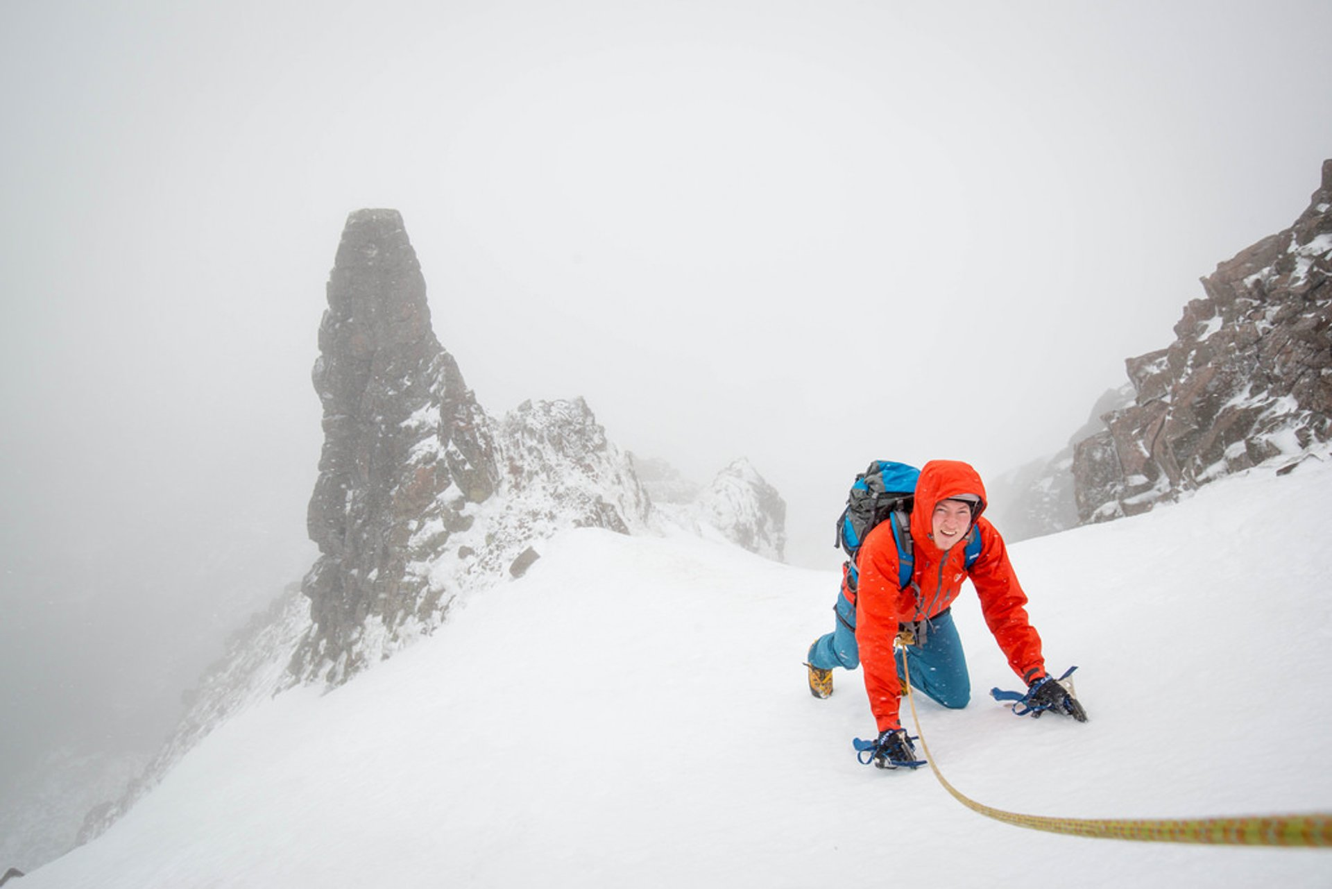 Winter Mountaineering and Ice Climbing in Scotland 2019 - Best Time