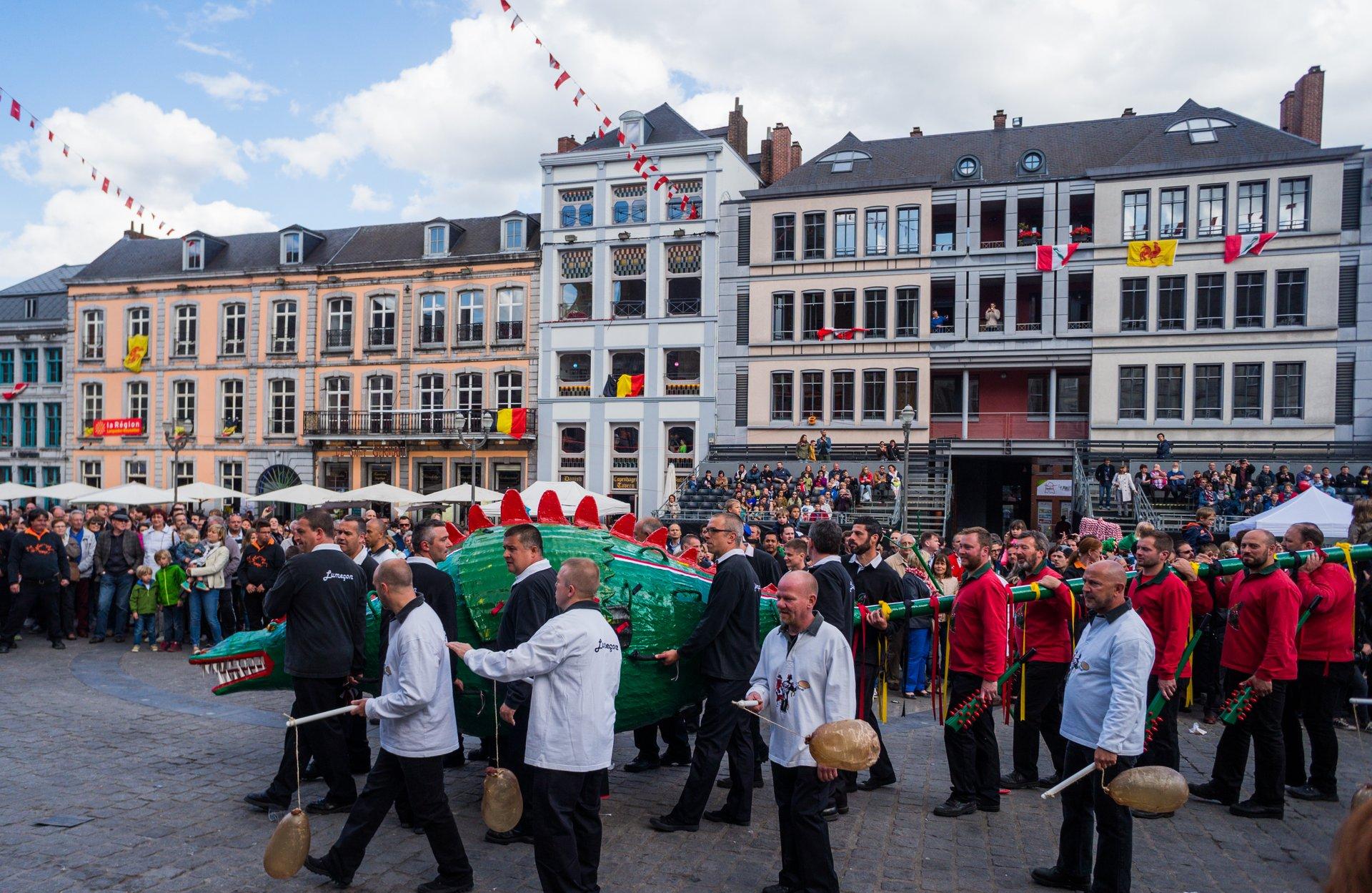 Best time to see Ducasse de Mons (Doudou) in Belgium 2020