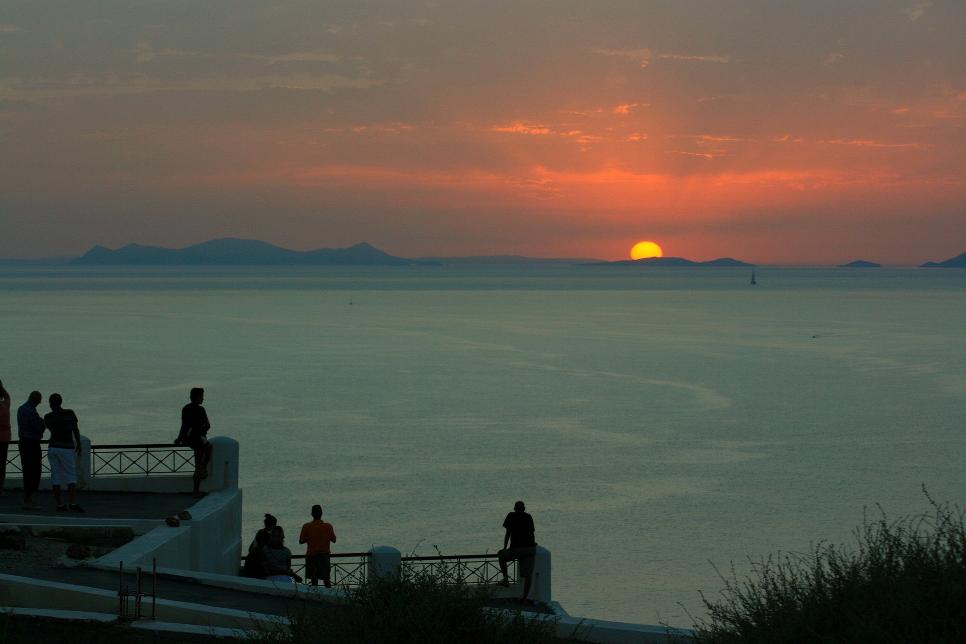 Best time for Breathtaking Sunsets in Santorini 2020