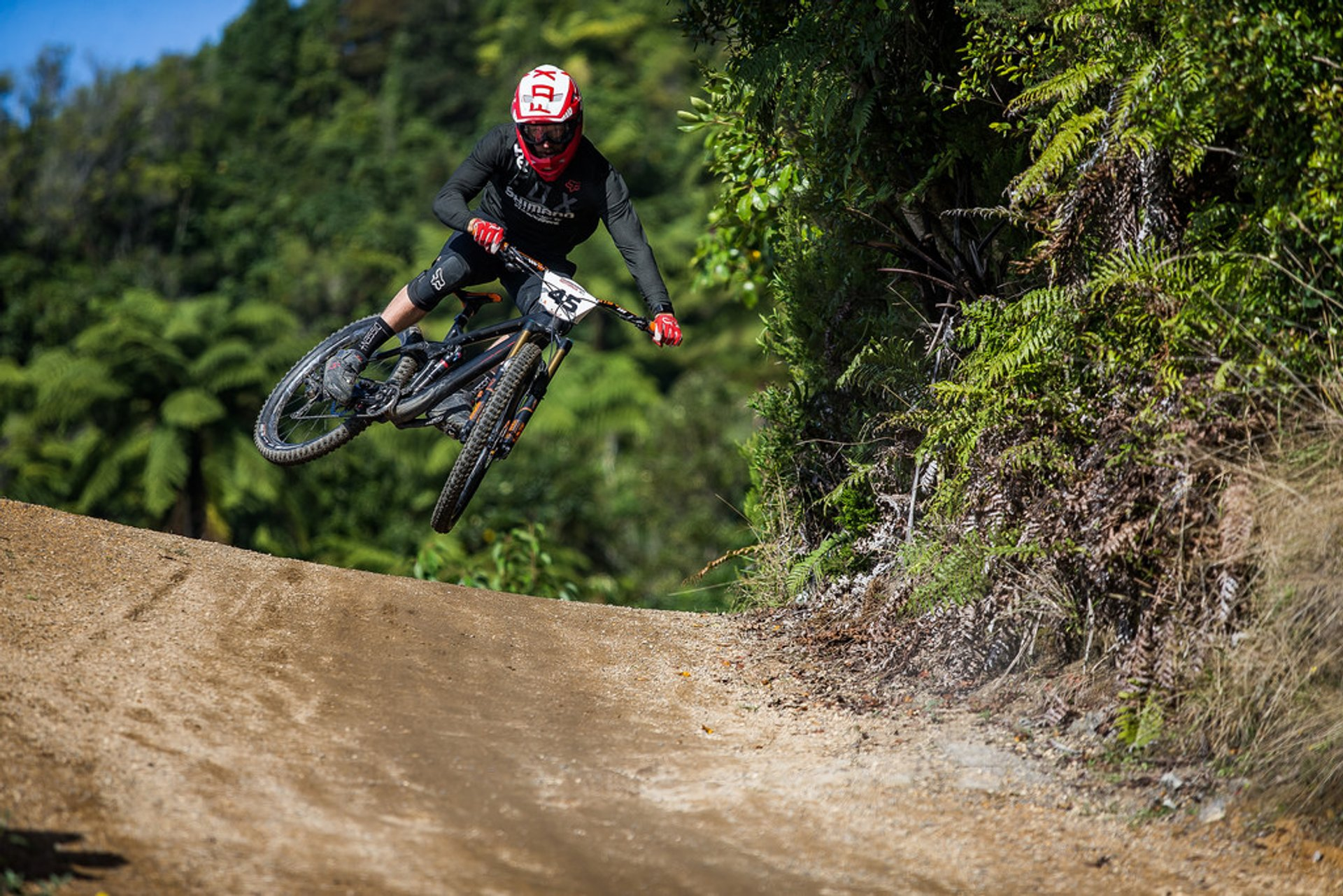 Action from the Crankworx Air Downhill 2020