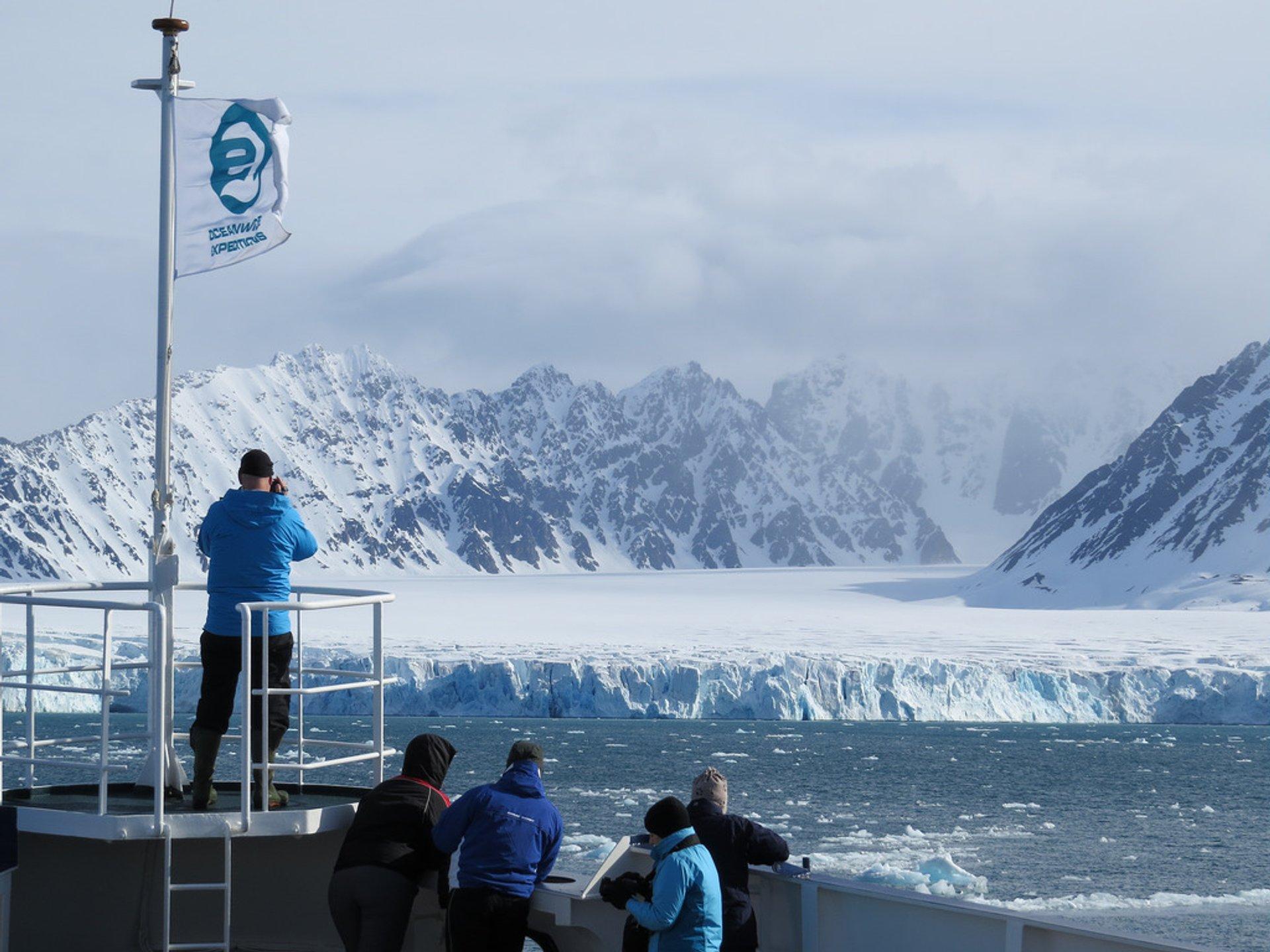 Lilliehöökbreen Glacier 2020
