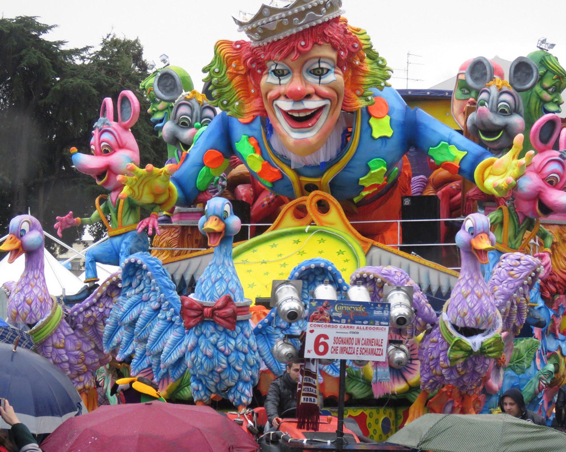 Carnevale Acireale, Sicily 2020