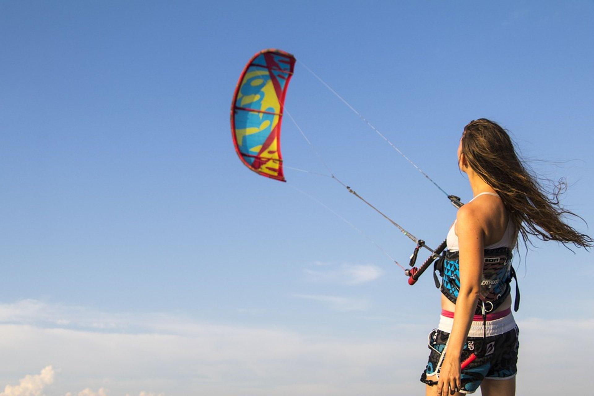 Kitesurfing in Montenegro 2020 - Best Time