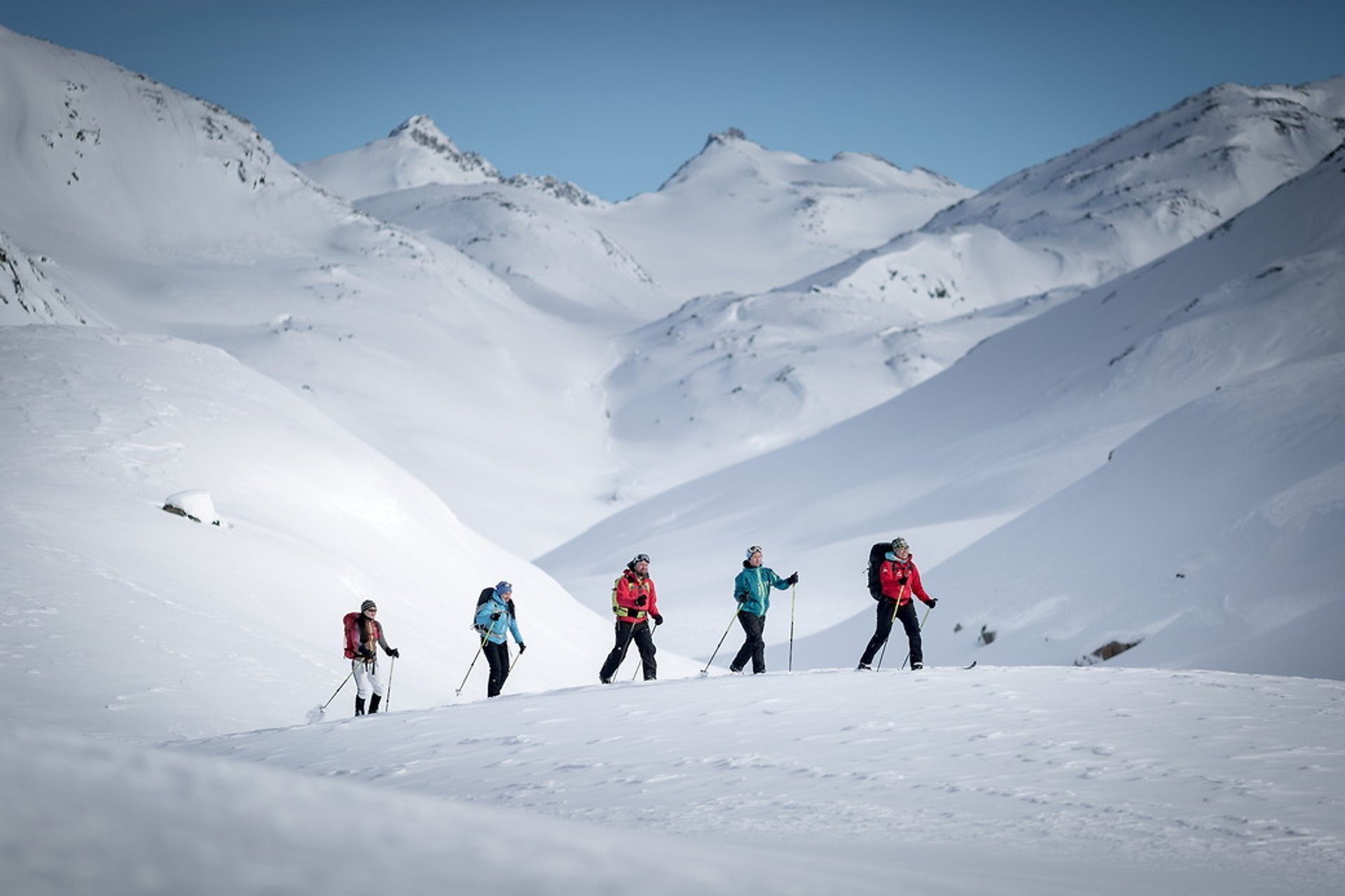 Backcountry skiing in the Tasiilaq area in East Greenland 2020