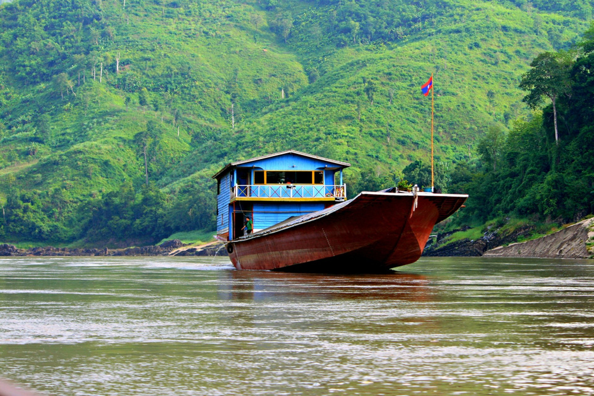 Slow Boat on the Mekong River in Laos 2019 - Best Time