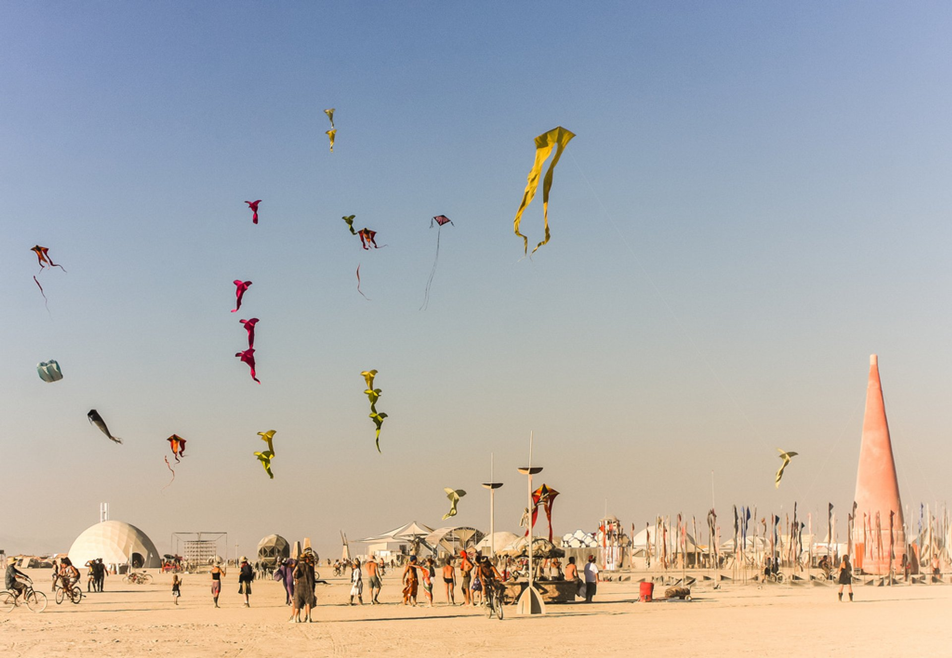 Best time for Burning Man in Nevada 2019