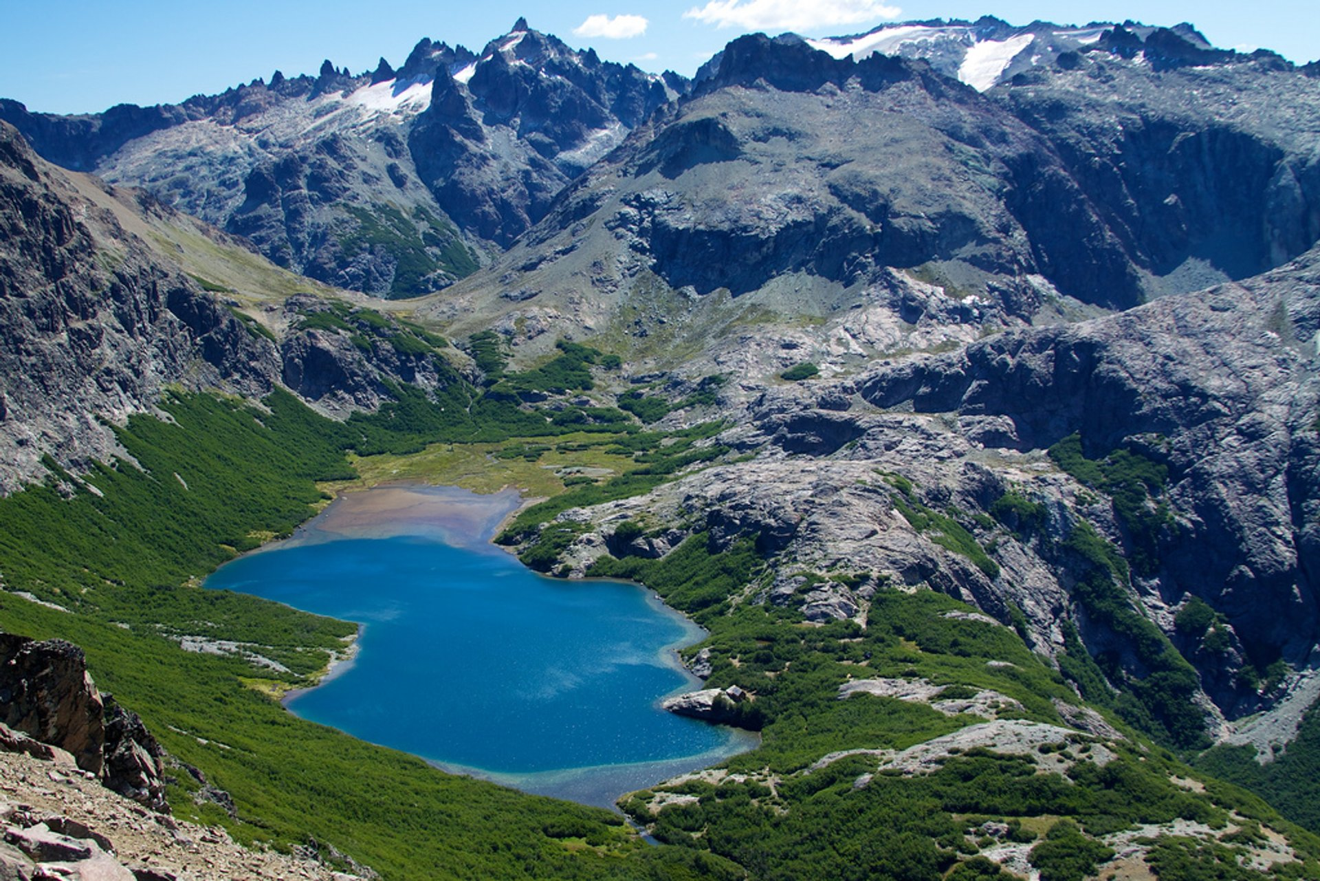 Best time to see Trekking in Bariloche in Argentina 2020