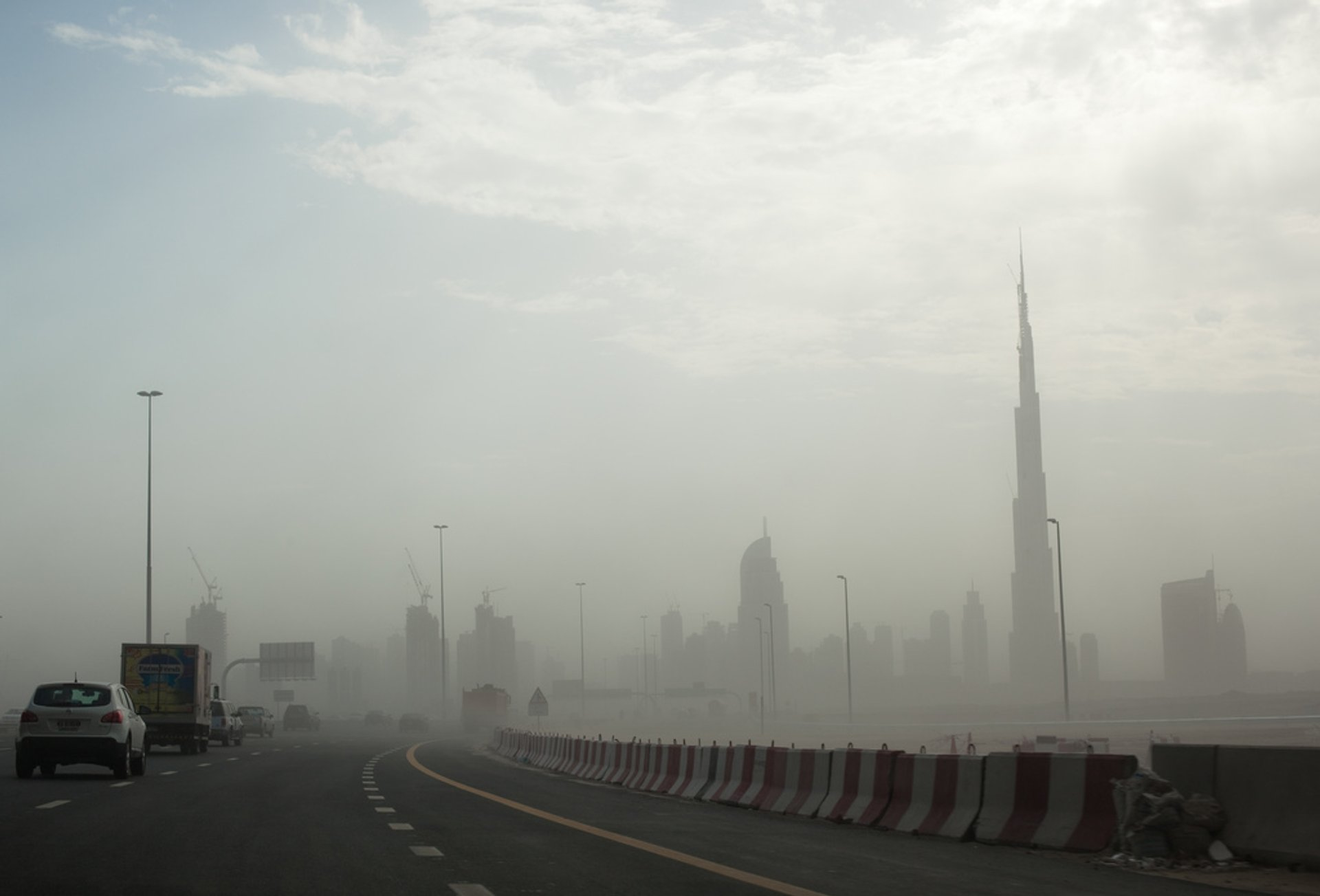 Sandstorms in Dubai 2020 - Best Time