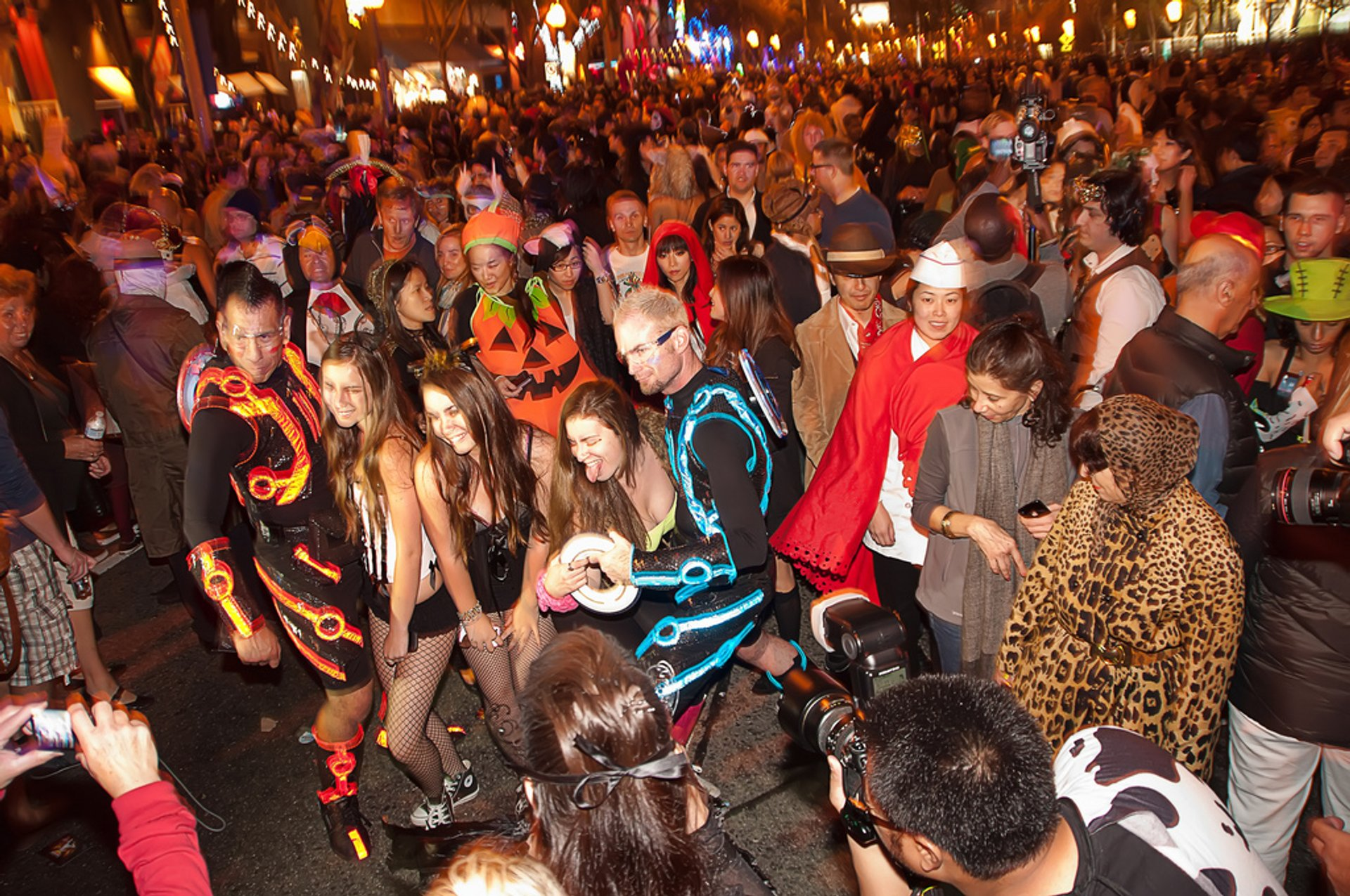 West Hollywood Halloween Carnaval in Los Angeles - Best Season 2019