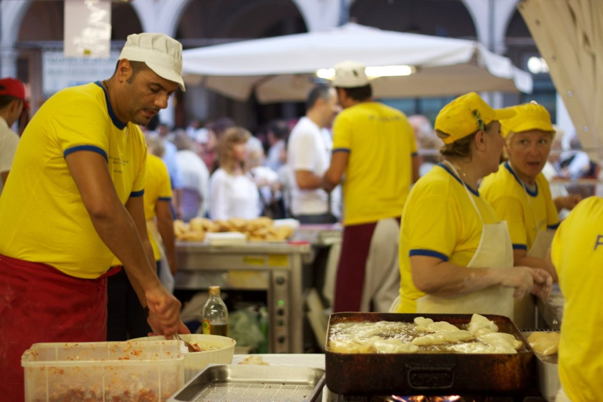 Best time to see Cesena International Street Food Festival in Italy 2020