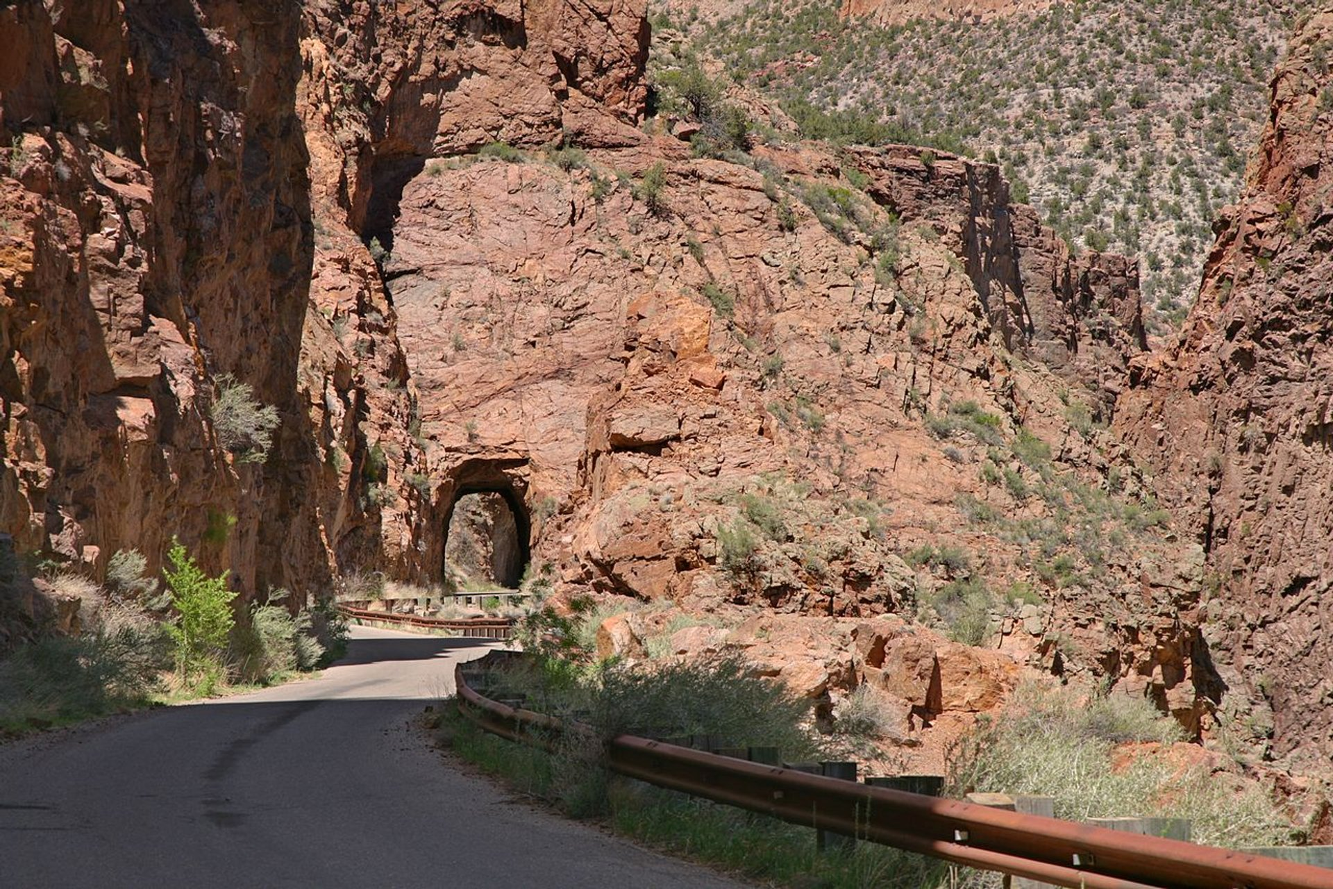 Gilman Tunnels in New Mexico - Best Season 2020