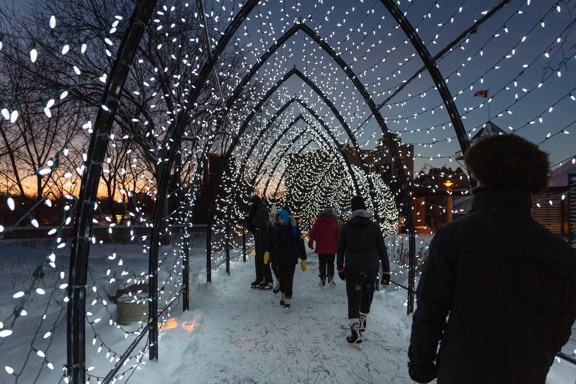 Arctic Glacier Winter Park at The Forks 2020