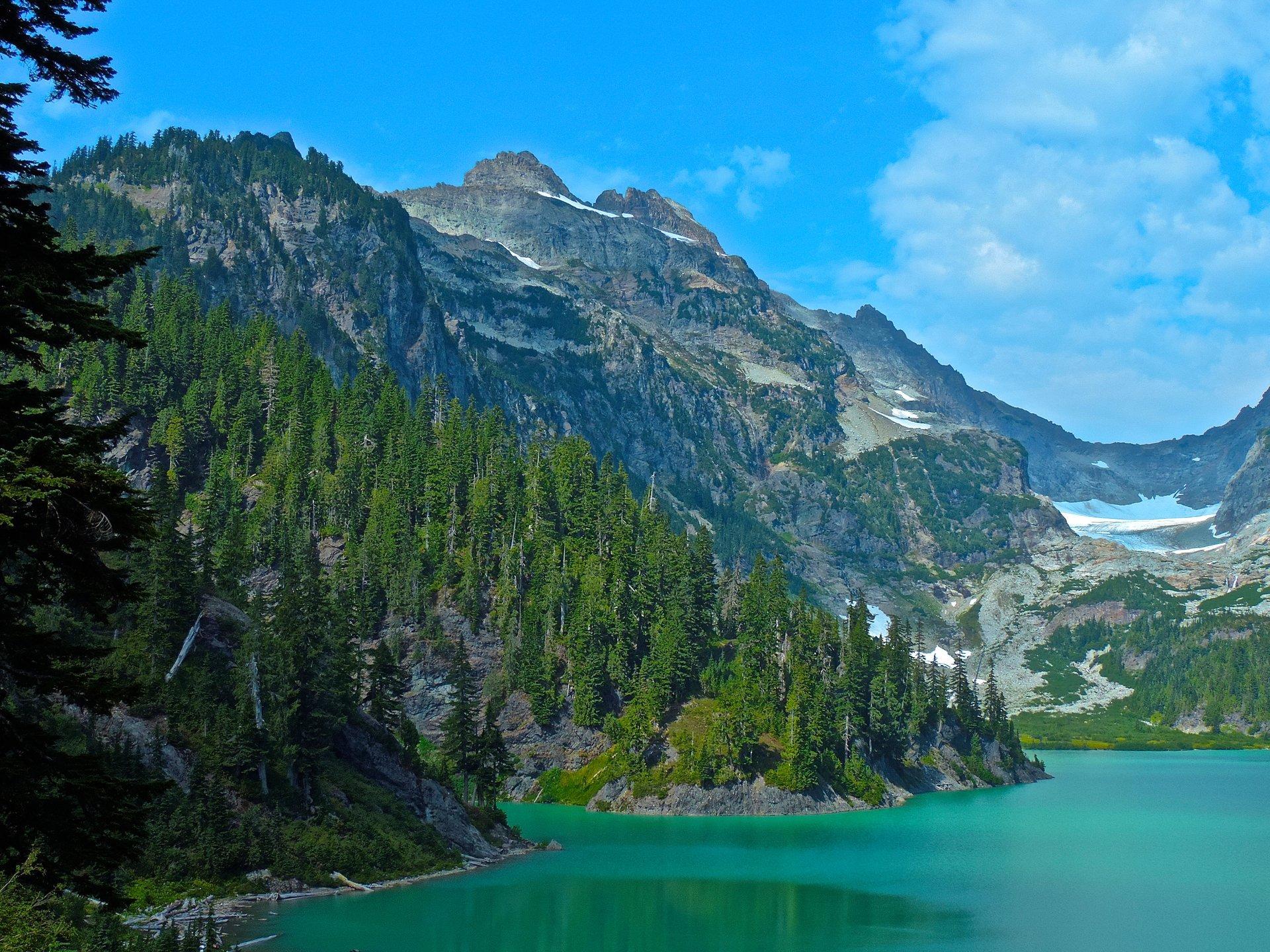 Blanca Lake and Columbia Peak 2020