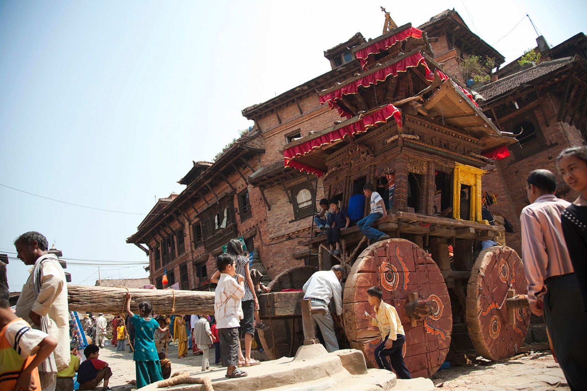 Bisket Jatra (Nepali New Year) in Nepal - Best Season 2020