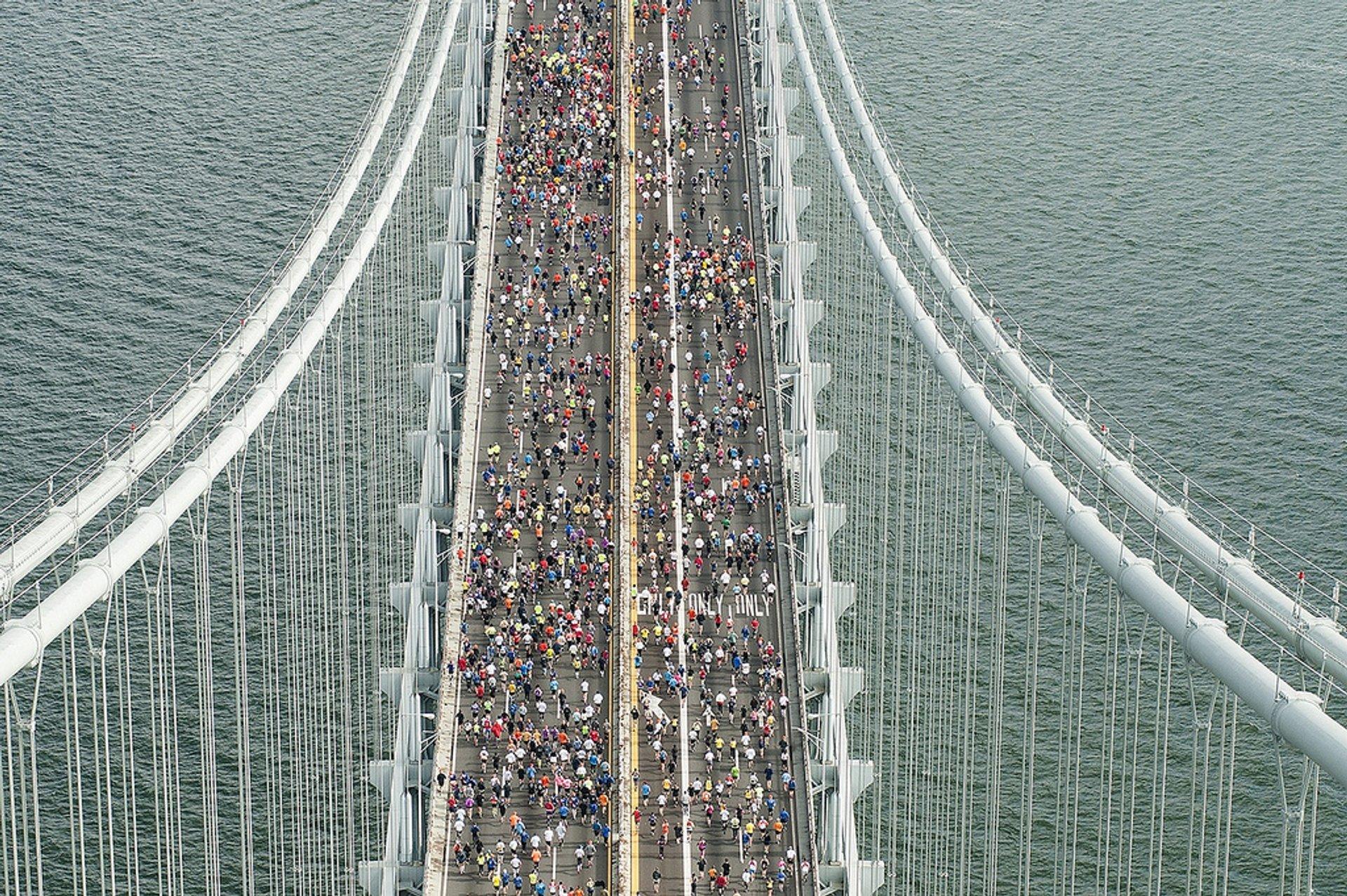 New York City Marathon in New York 2020 - Best Time