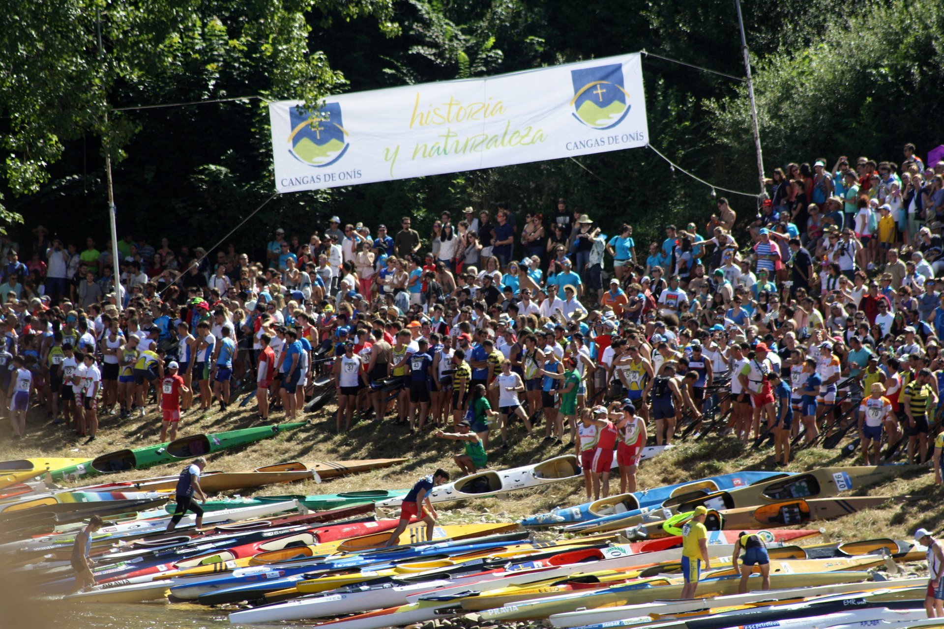 Best time for International Descent of River Sella in Spain 2020