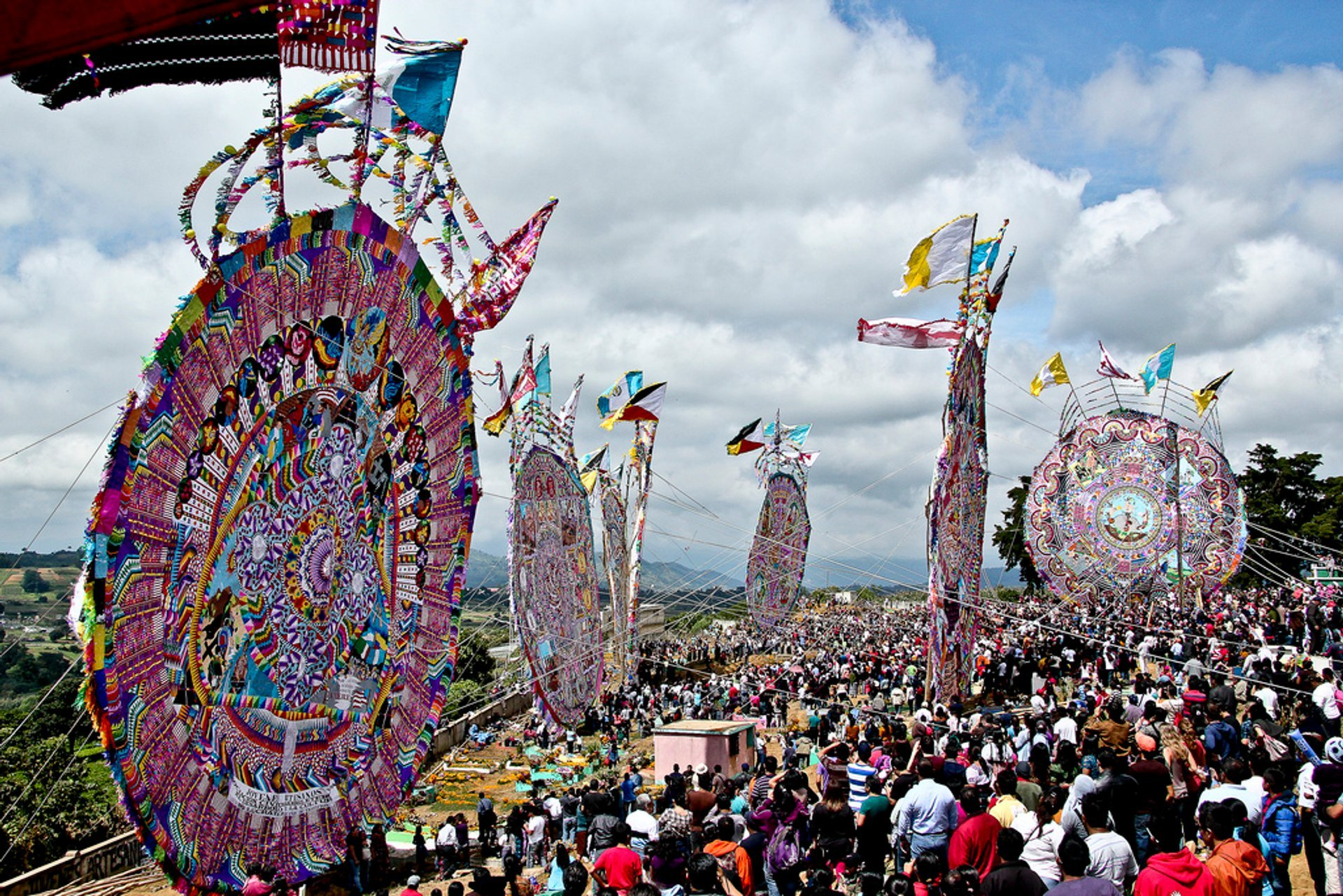 Festival de Barriletes Gigantes or Day of the Dead Kite Festival in Guatemala 2019 - Best Time