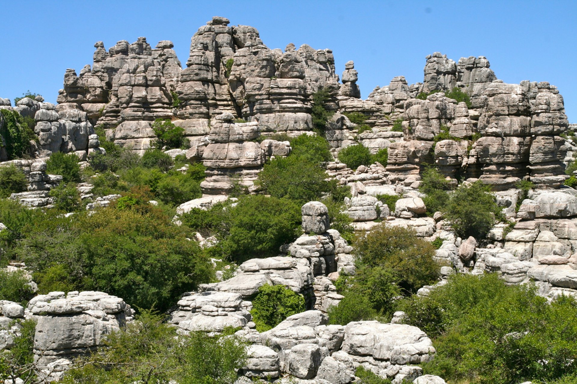 El Torcal de Antequera National Park in Spain - Best Season 2020