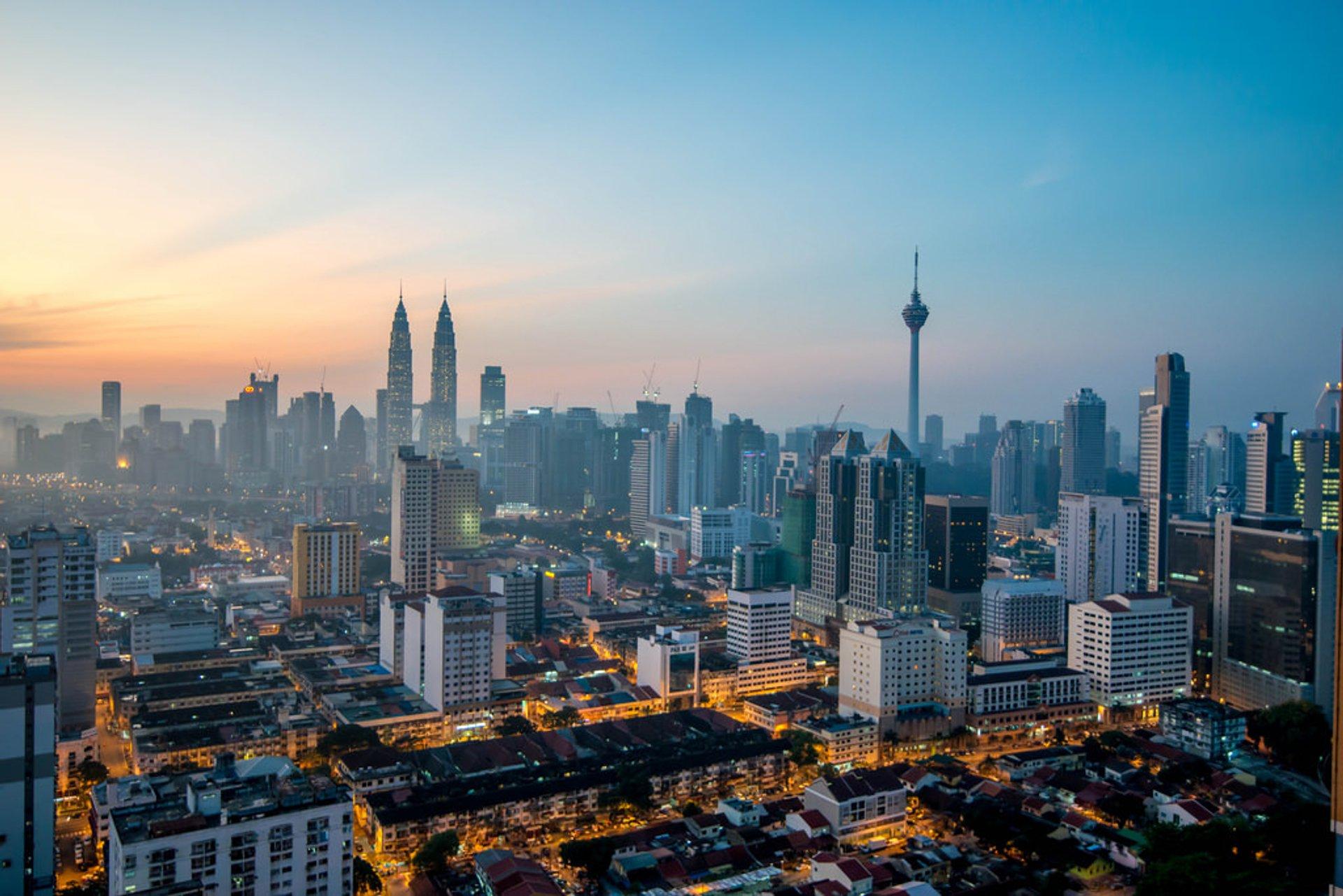 Kuala Lumpur at dawn 2019