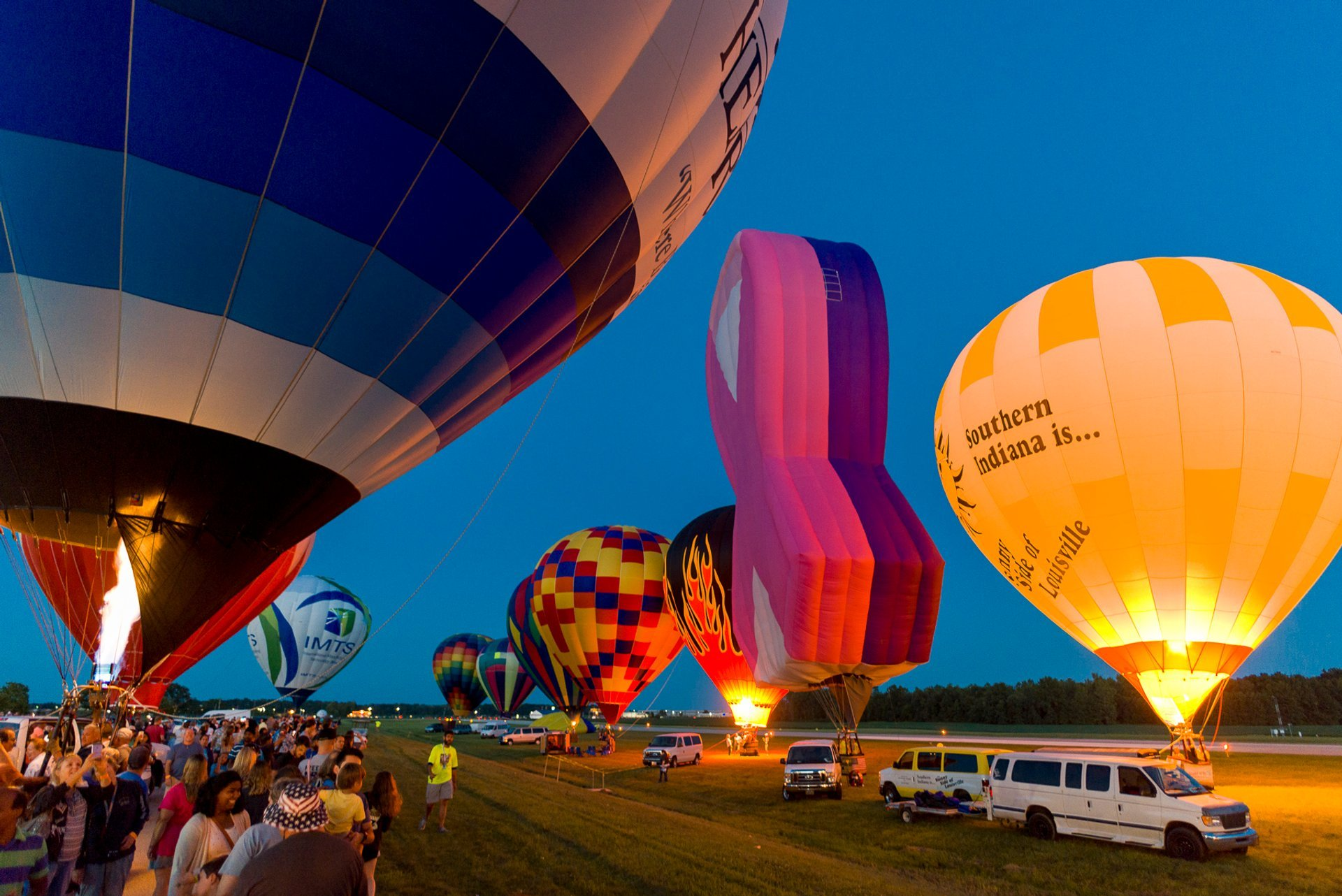 Best time to see All Ohio Balloon Fest 2020