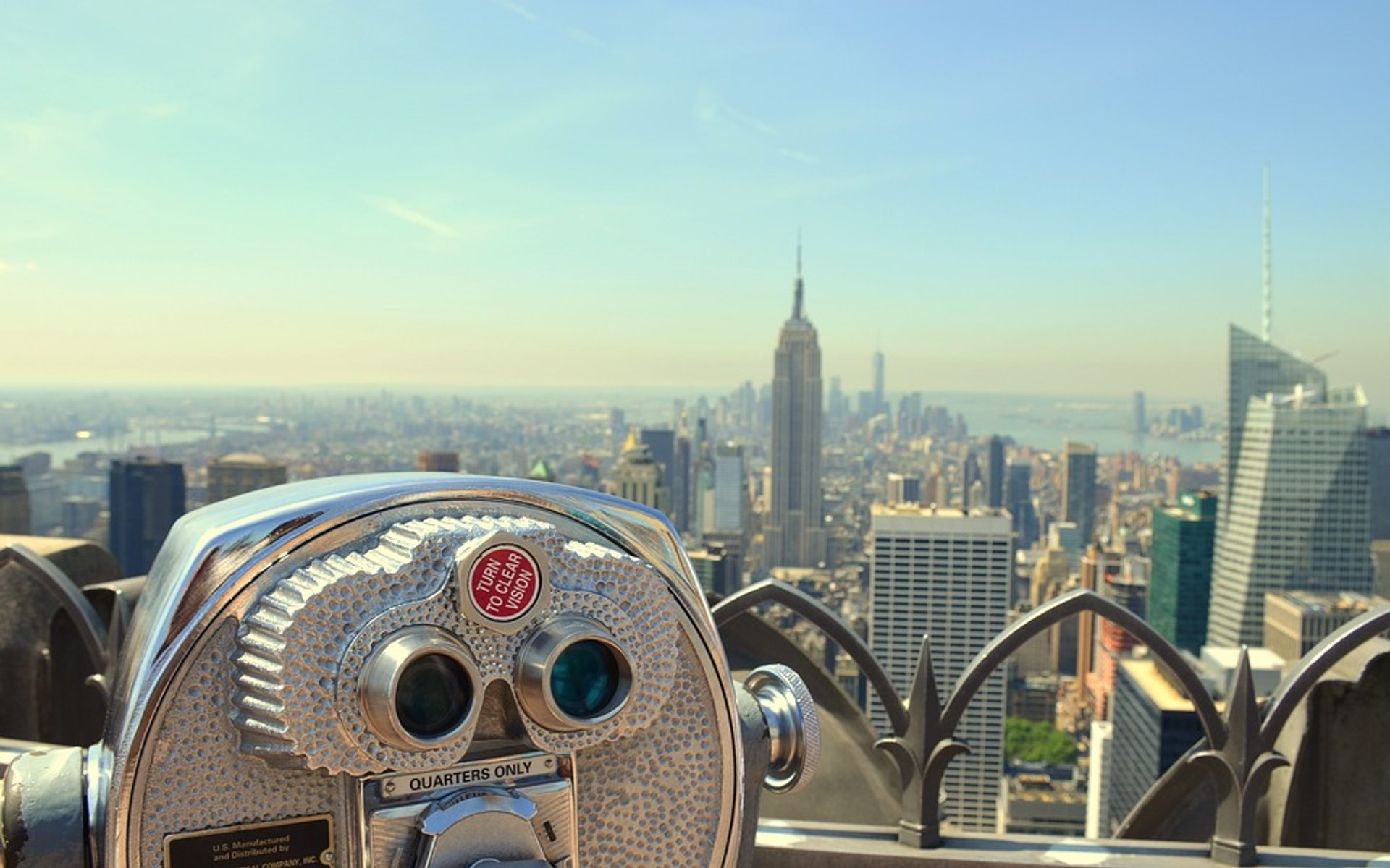 Top of the Rock in New York - Best Season 2020