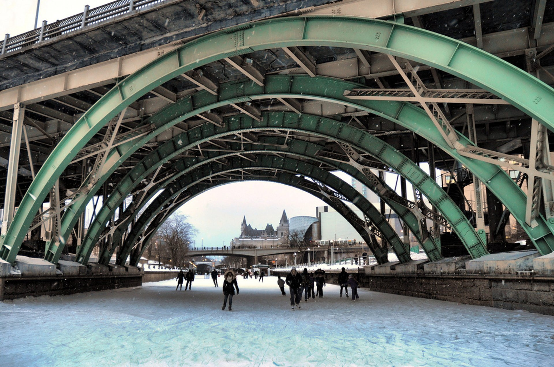 Best time to see Rideau Canal Skating Season in Ontario 2019