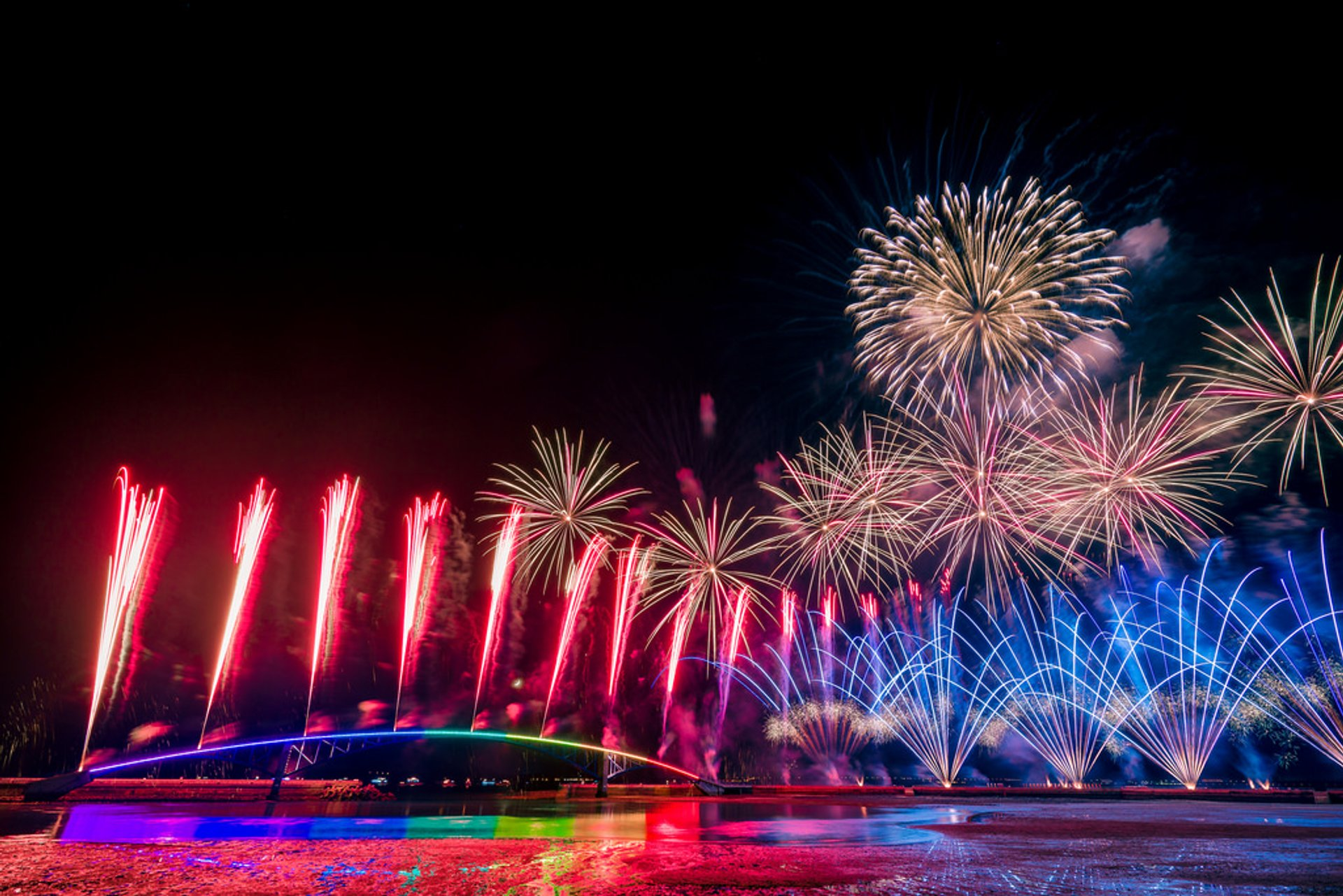 Best time for Penghu Fireworks Festival in Taiwan 2019