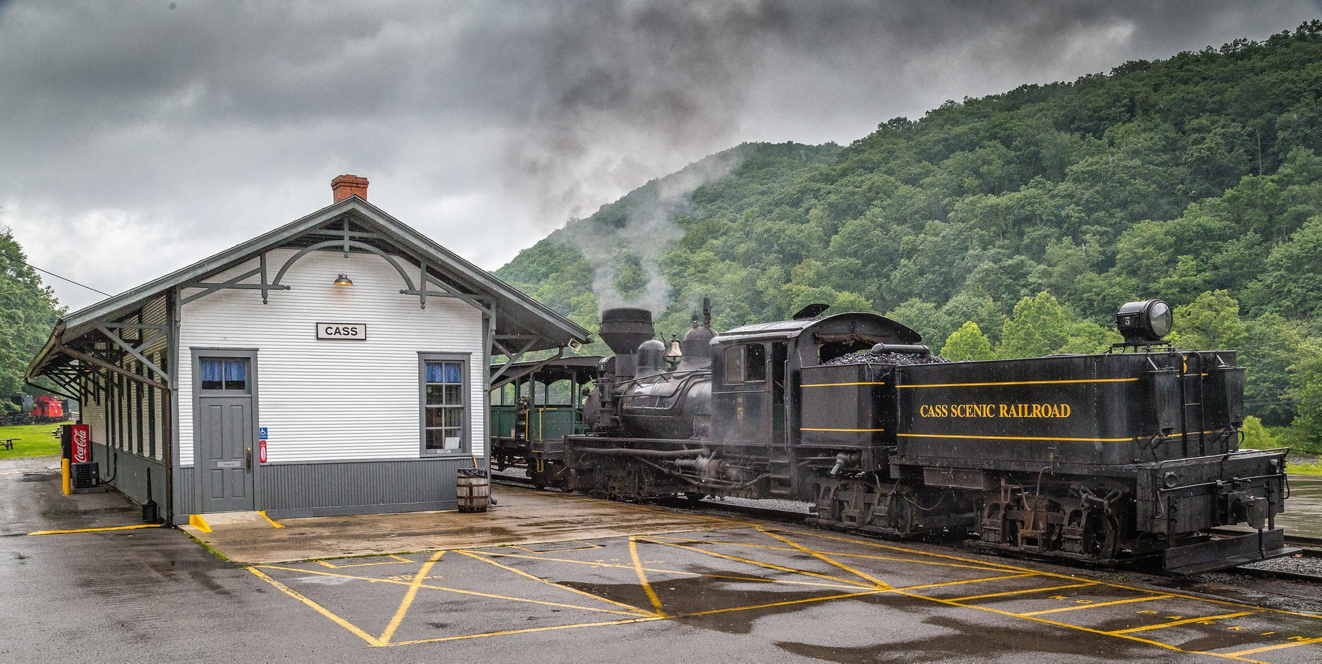 Cass Scenic Railroad 2020