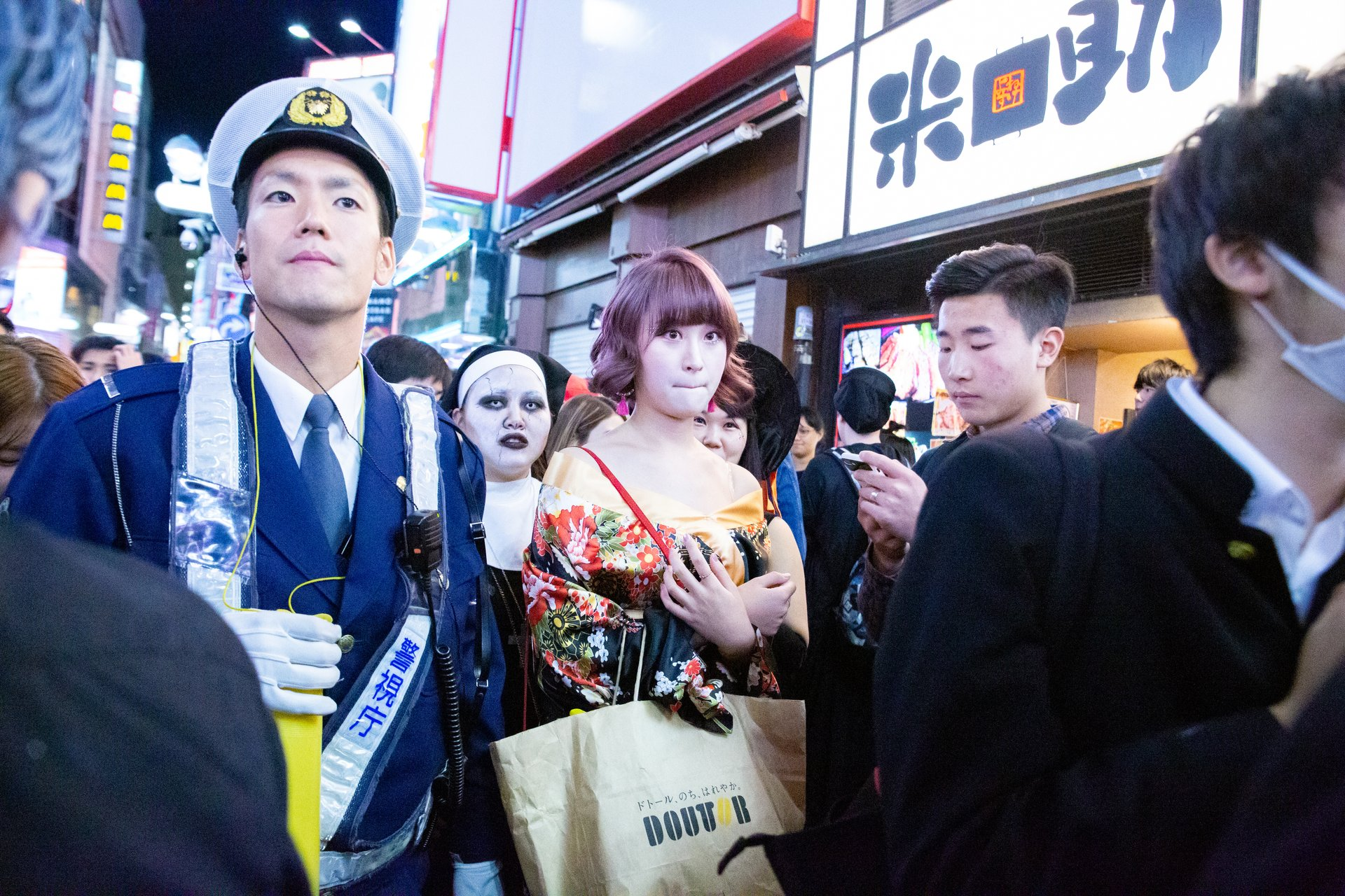 Shibuya Halloween 2020