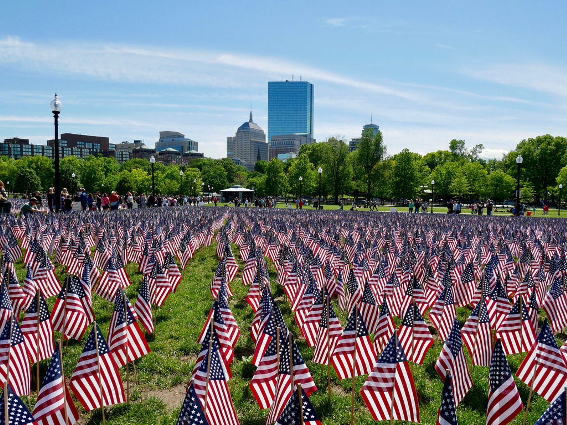 Best time for Memorial Day Weekend in Boston 2020