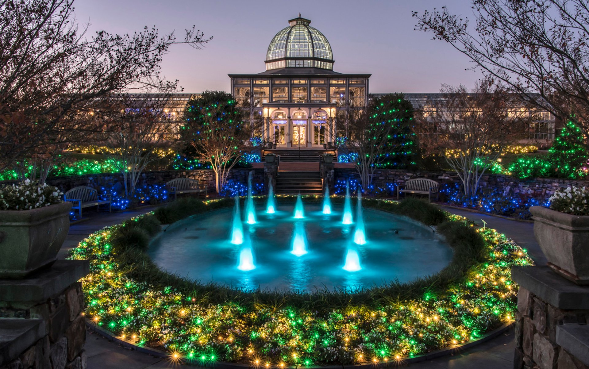 Dominion Energy GardenFest of Lights at Lewis Ginter in Virginia - Best Season 2020
