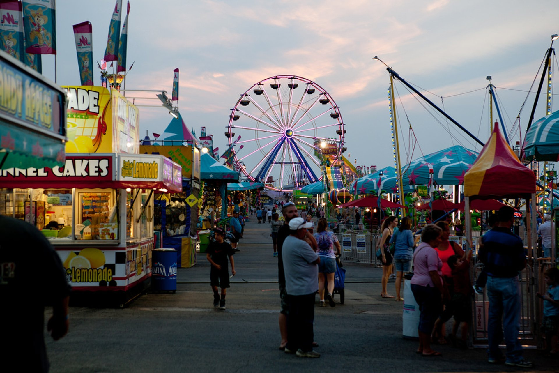 Best time for Missouri State Fair in Midwest 2020