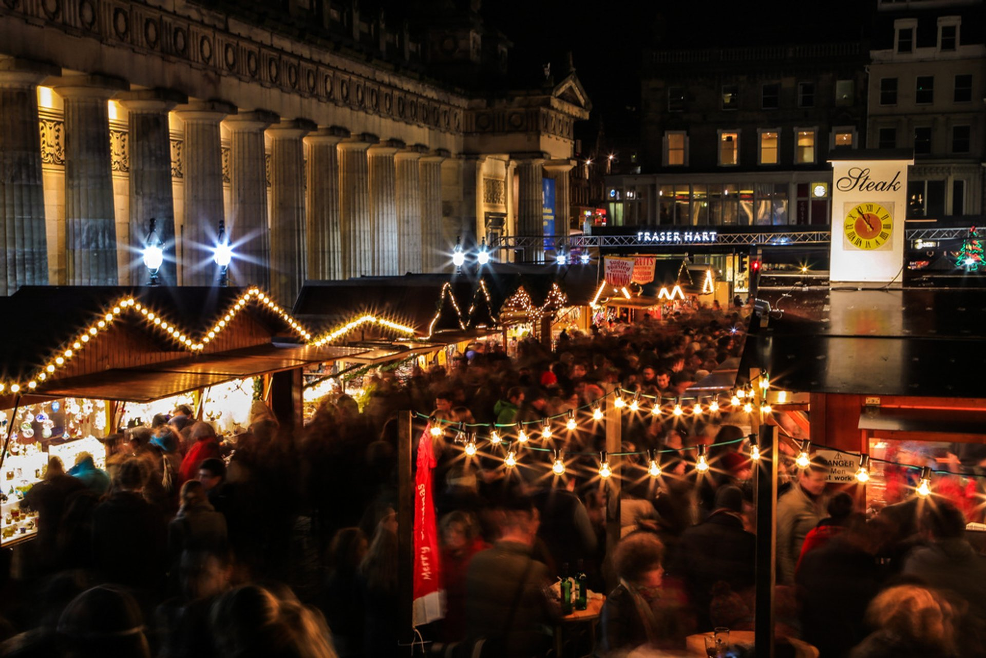 Edinburgh Christmas Market 2019 2020 Dates Amp Map